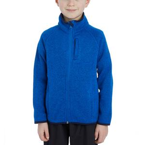 PETER STORM Boys' Full-Zip Knit Look Fleece