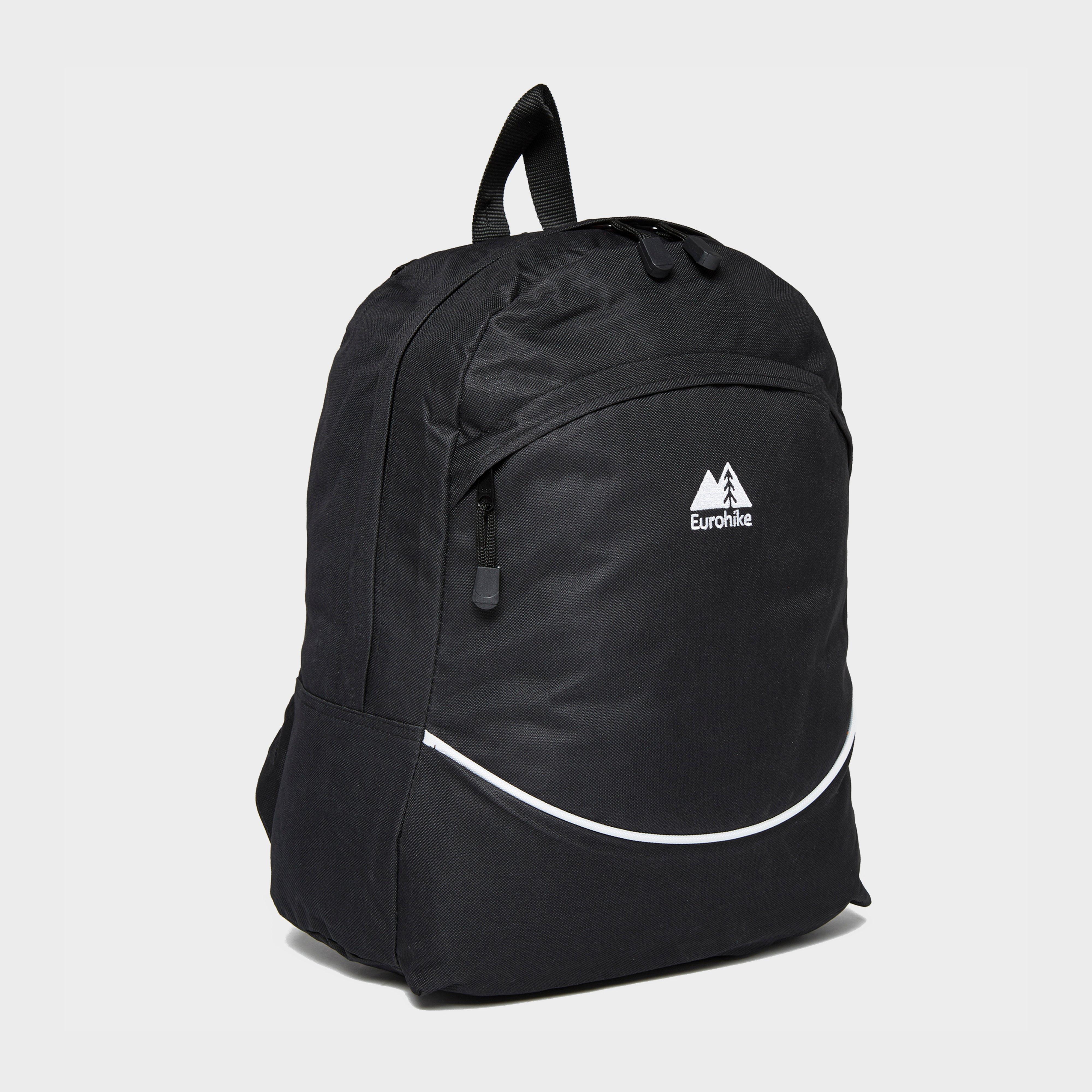 Eurohike Essential 20L Backpack, Black