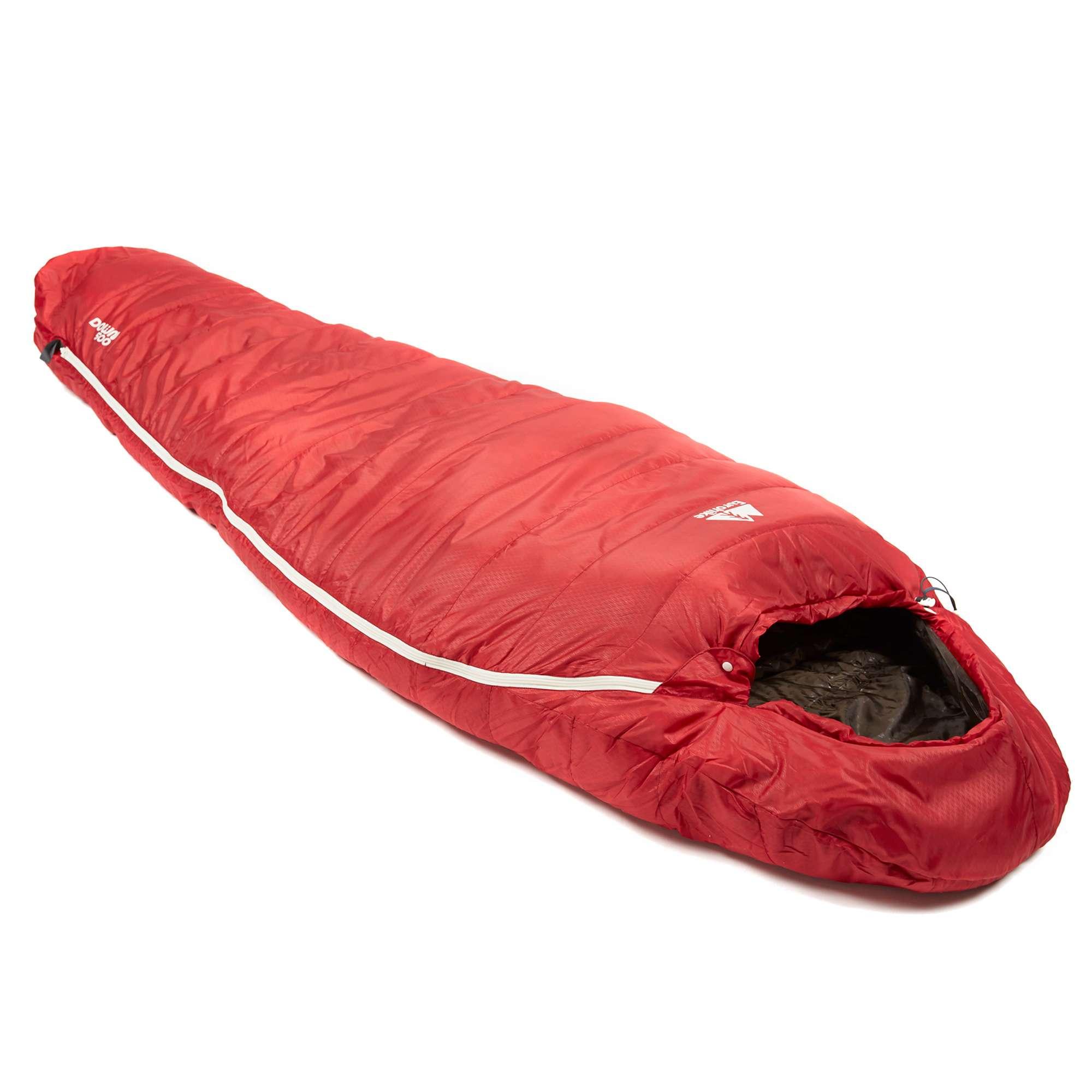 EUROHIKE Down 500 3 Season Mummy Sleeping Bag