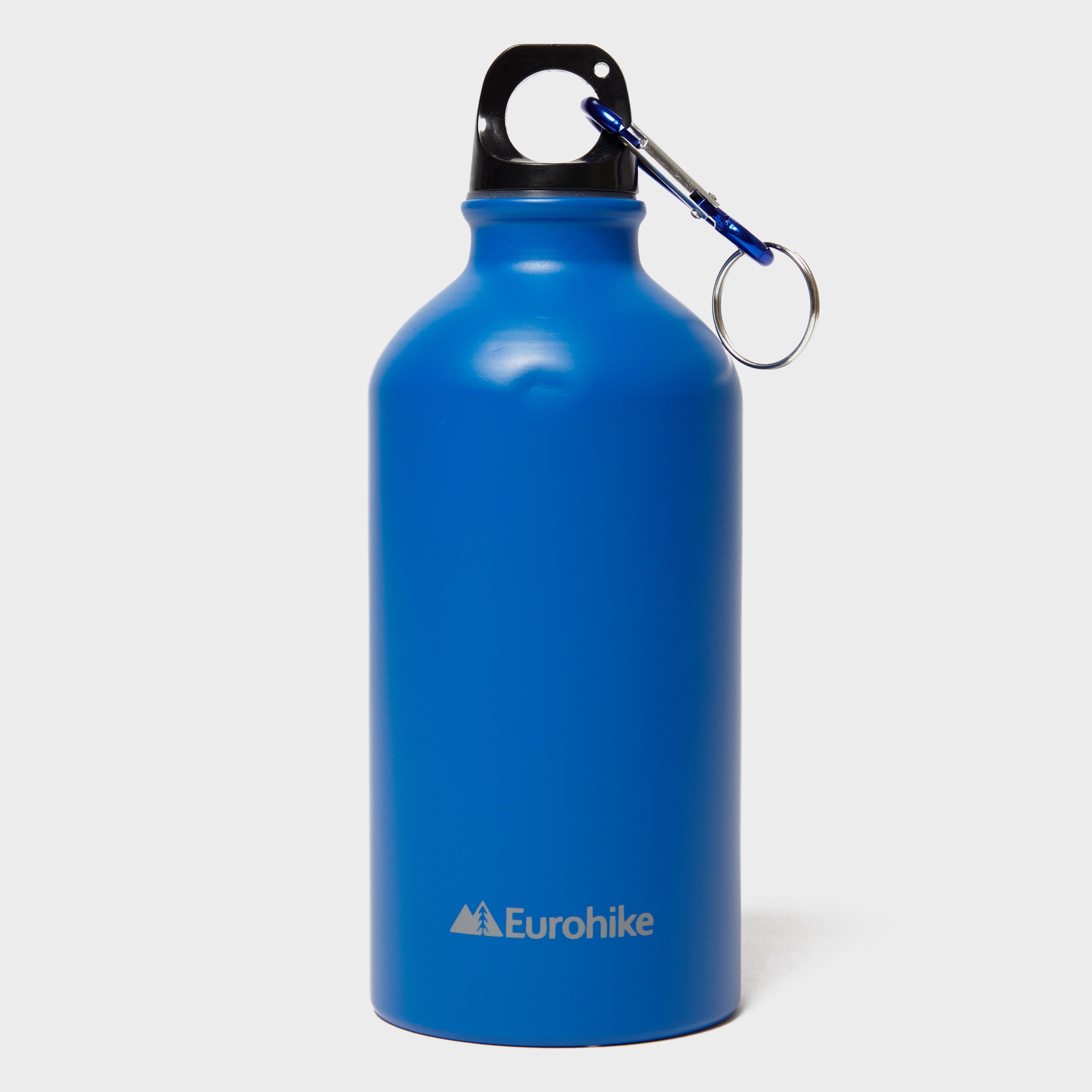 Eurohike Aqua 0.5L Aluminium Water Bottle, Blue/BLU