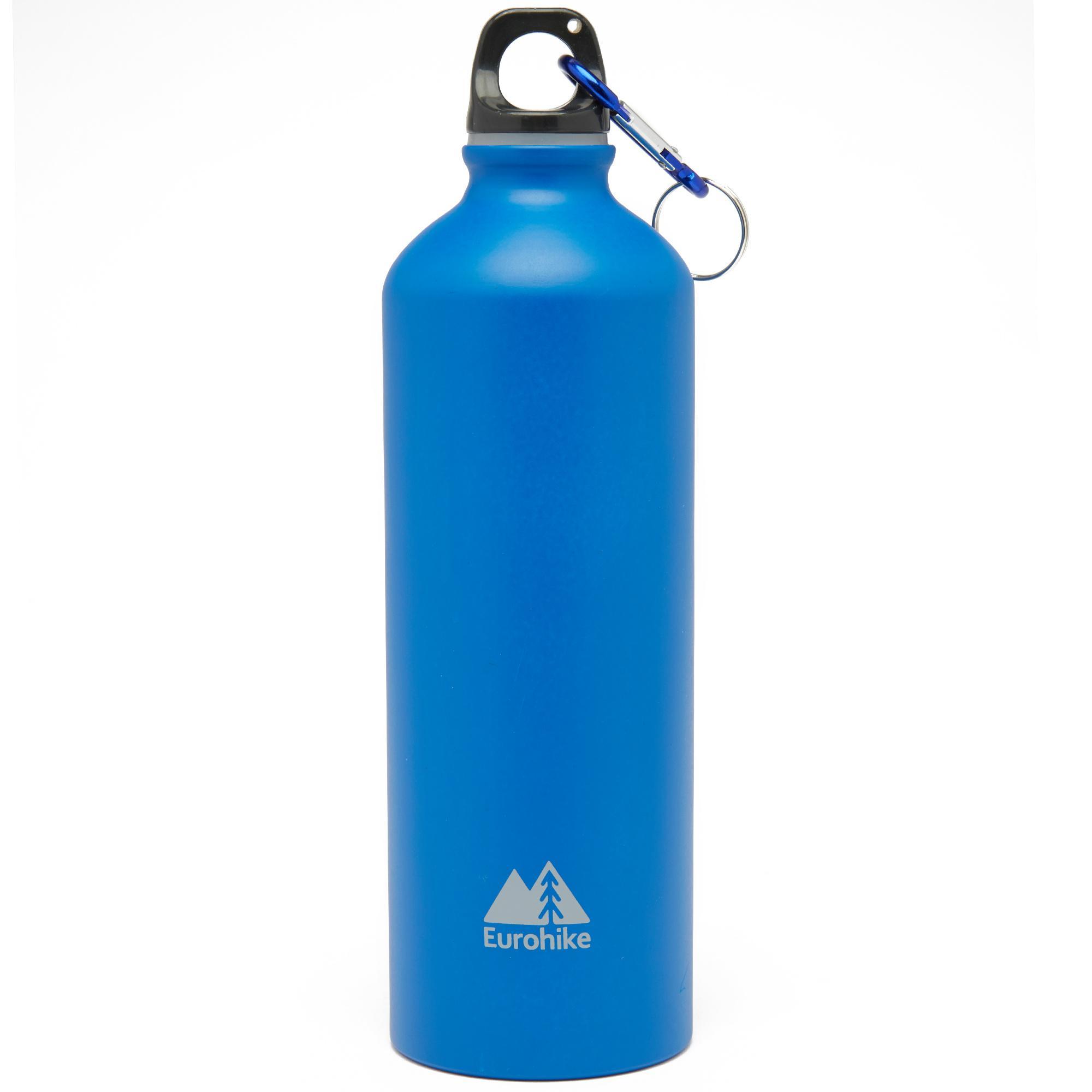 Eurohike Aqua 0.75L Aluminium Bottle, Blue/BLUE