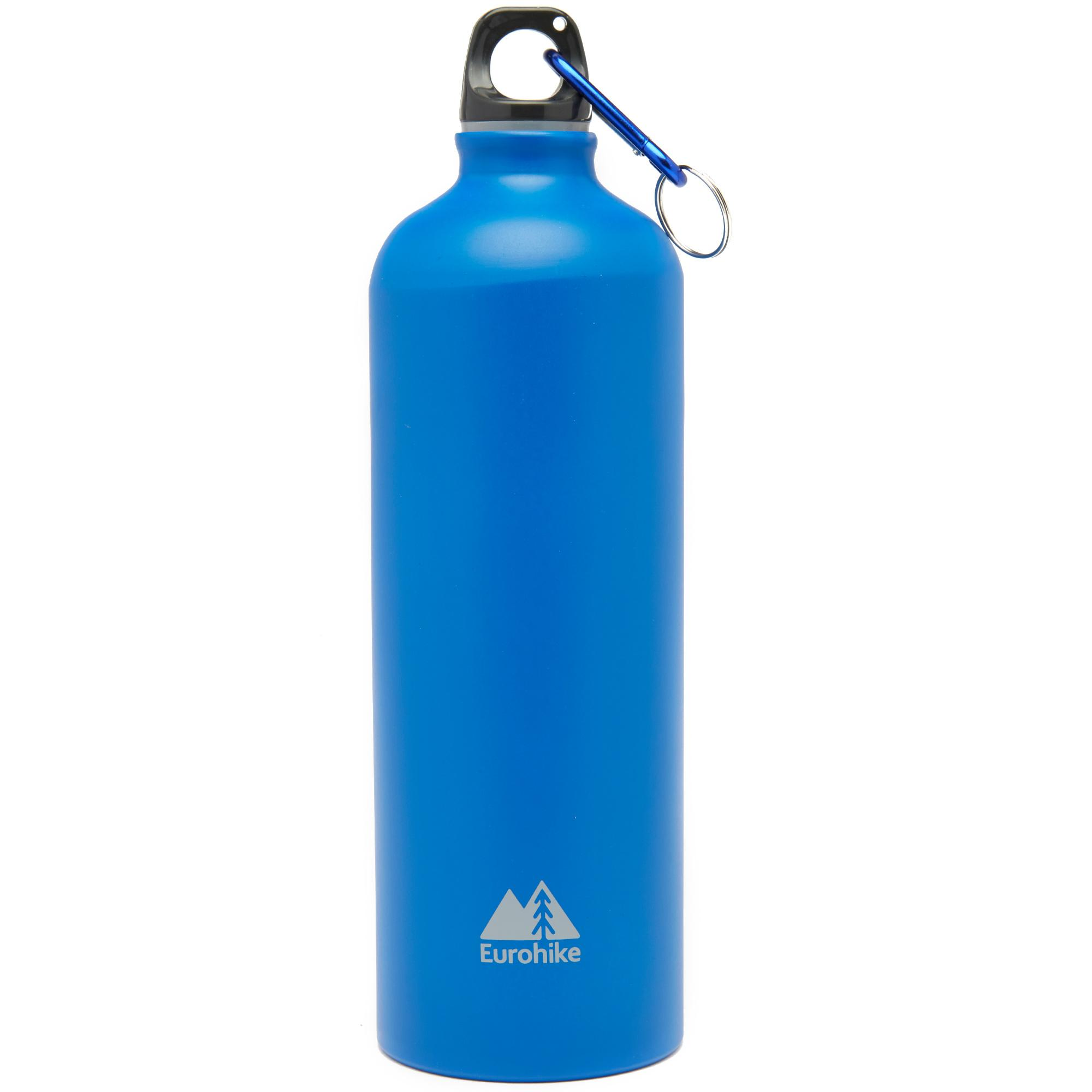Eurohike Aqua 1L Aluminium Bottle, Blue/BLUE