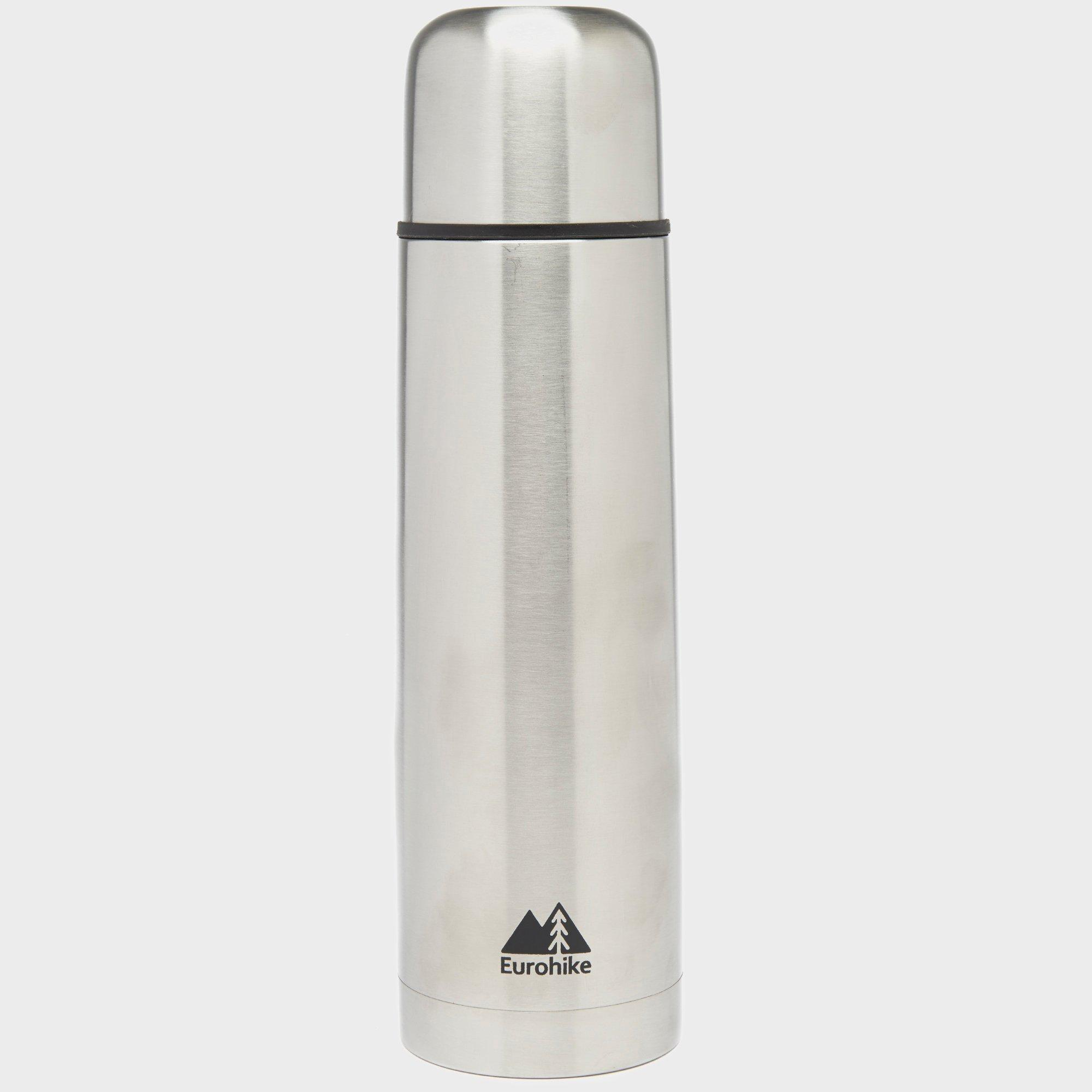 Eurohike Stainless Steel Flask 750ml - Sil  Sil