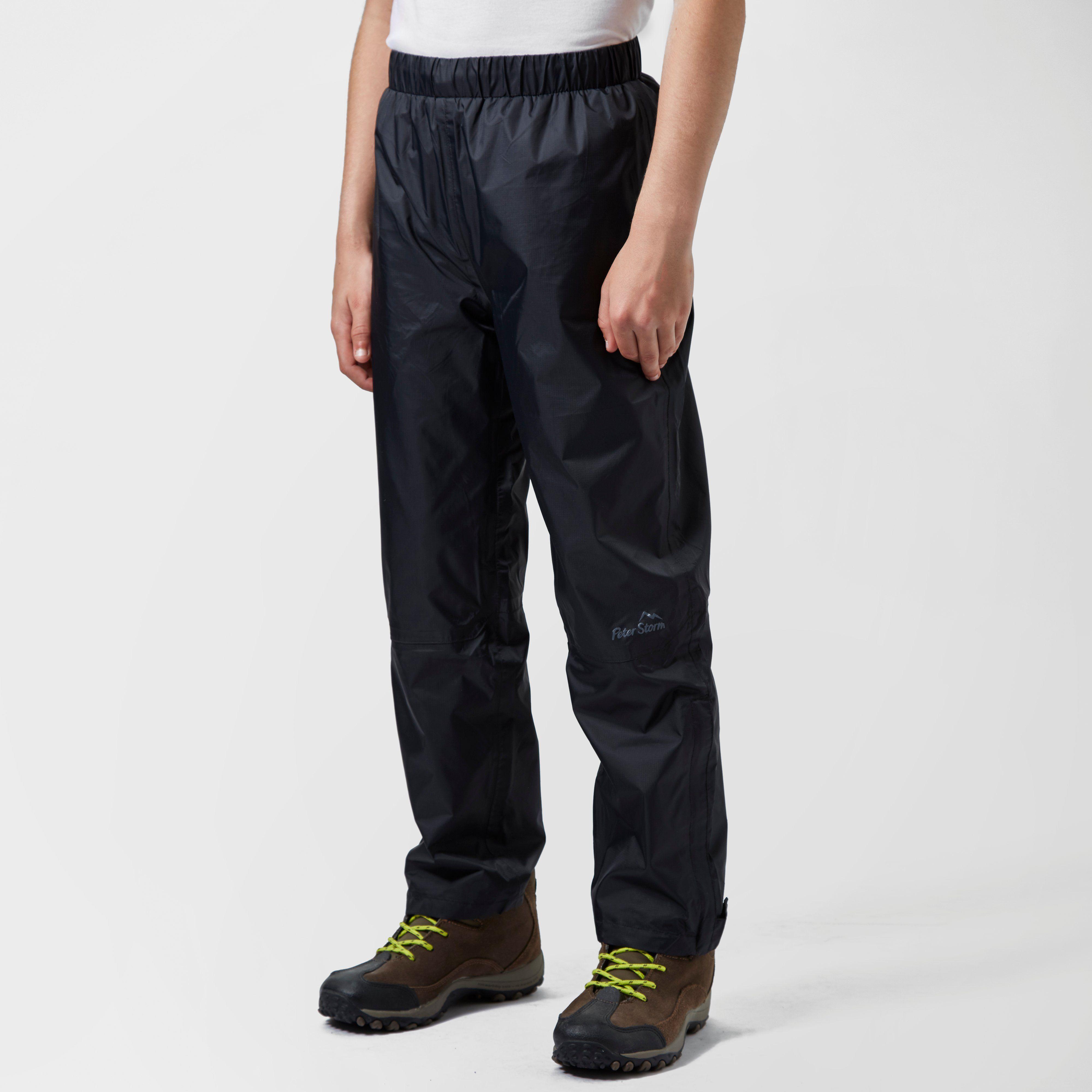 PETER STORM Kids' Unisex Waterproof Over Trousers
