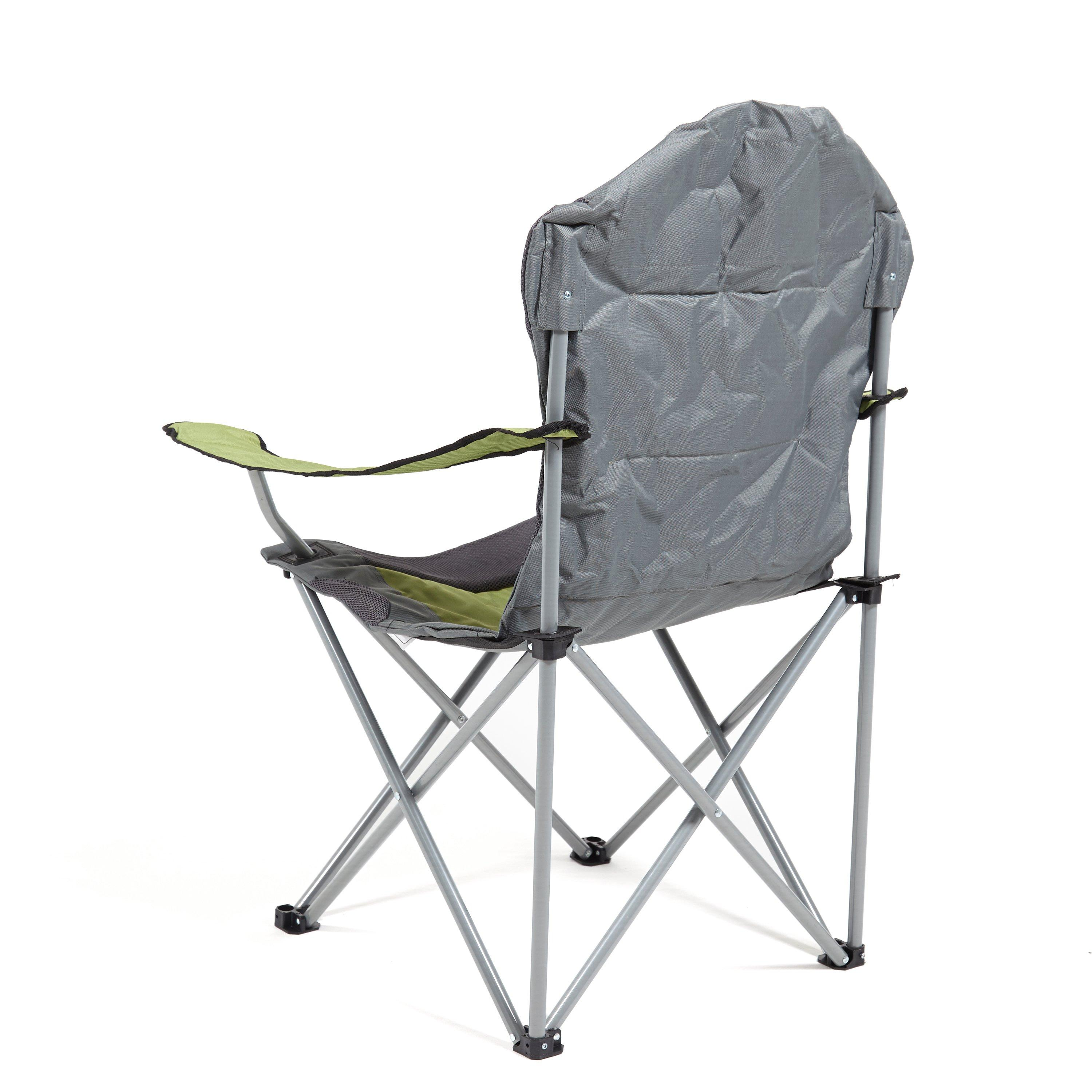 details about eurohike langdale deluxe folding chair green