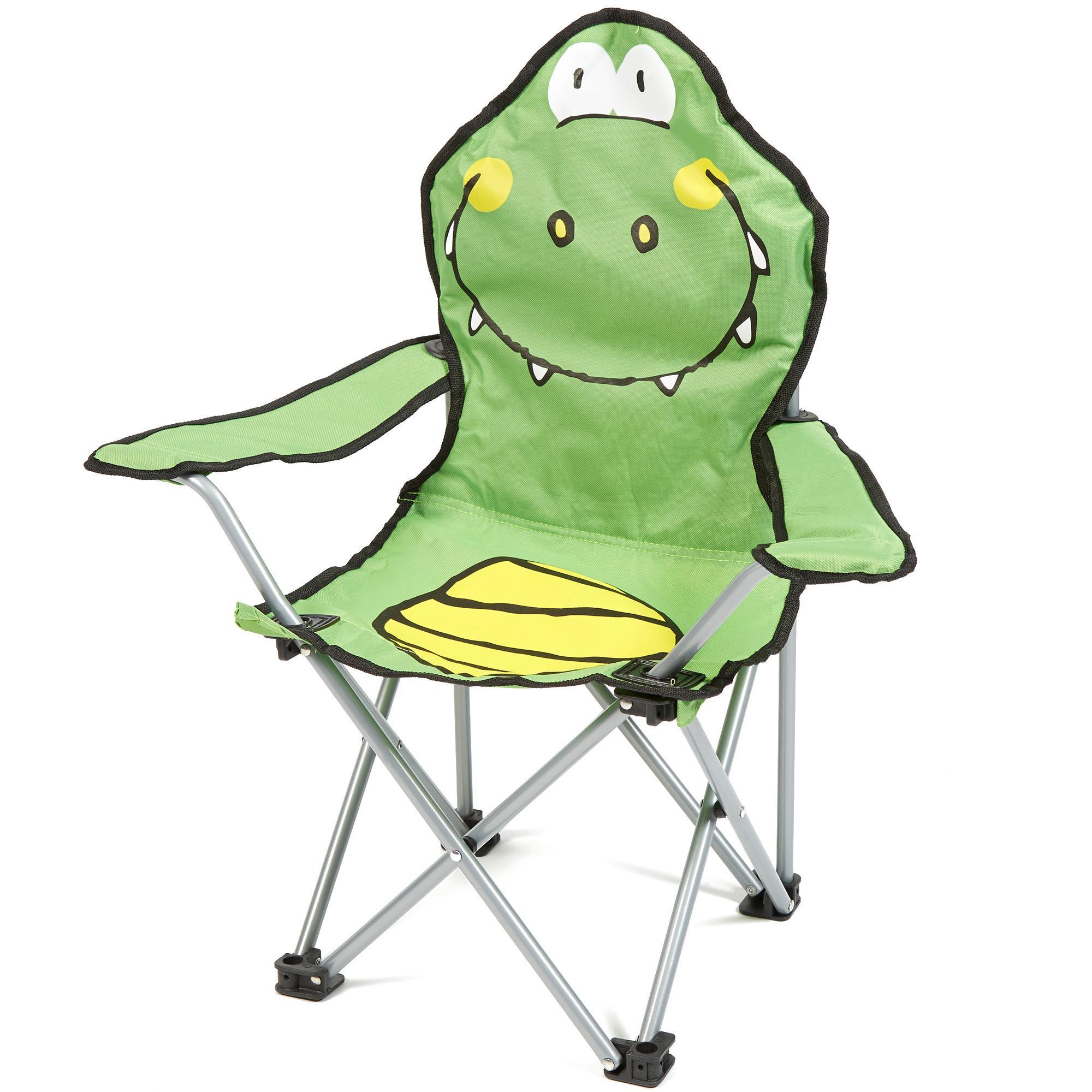Eurohike Kids Croc Chair Green