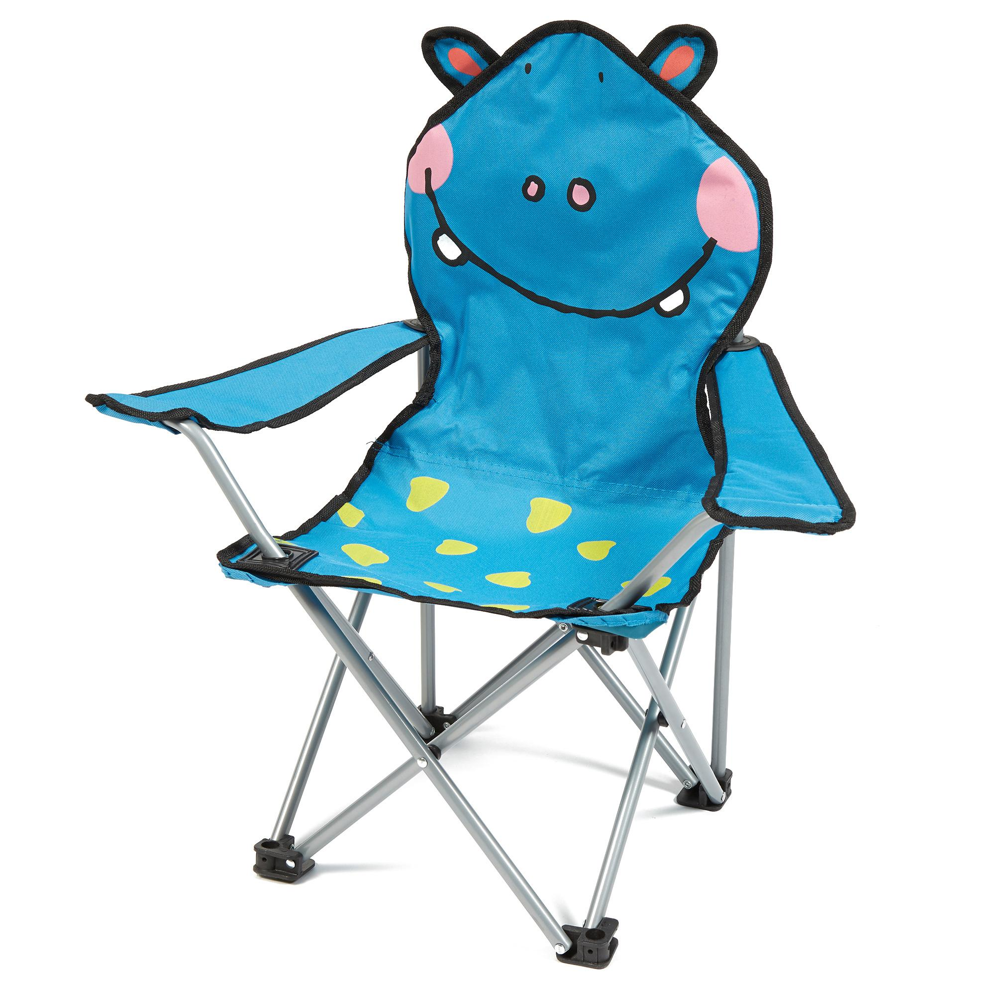 eurohike kids hippo folding chair