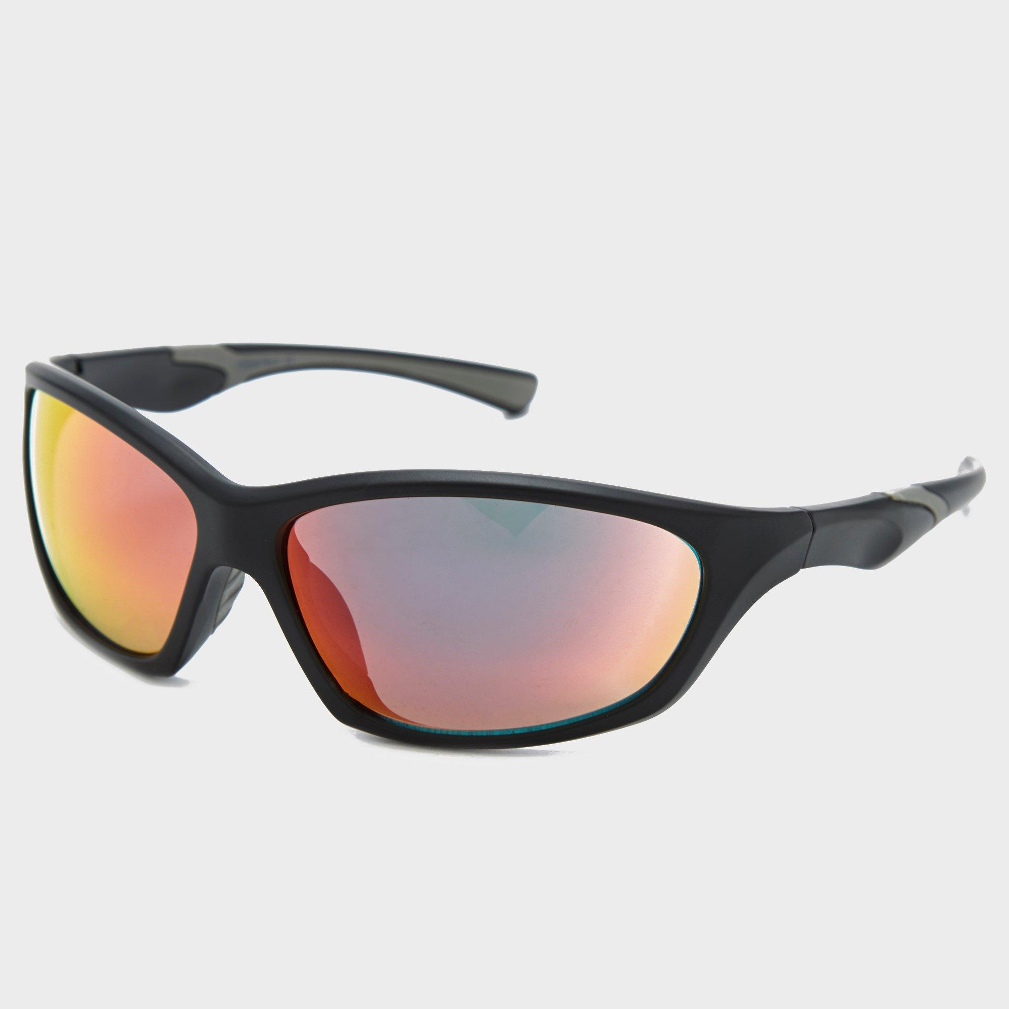 Peter Storm Men's Sport Square Wrap-Around Sunglasses, Black