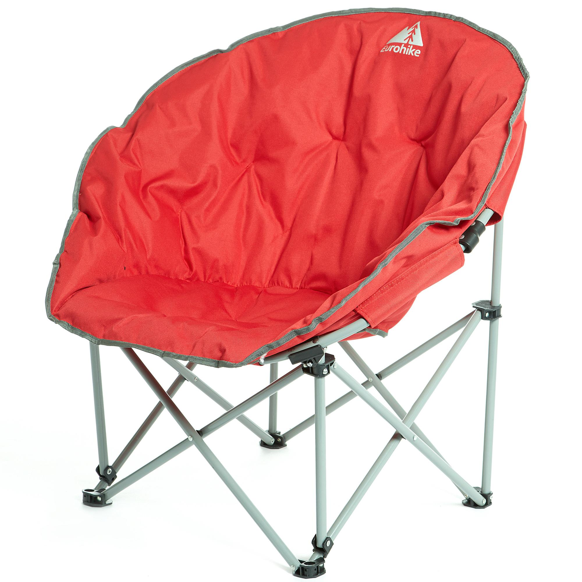 Details about EUROHIKE Deluxe Moon Chair - Red