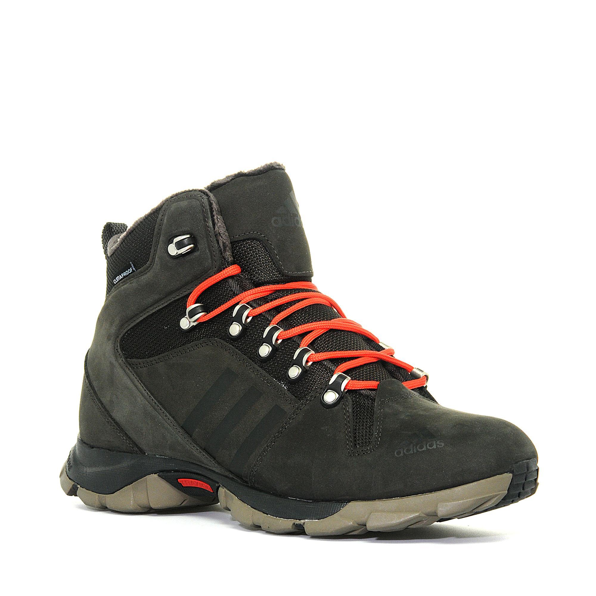 Adidas Mens Snowtrail Climaproof Snow Boots Black