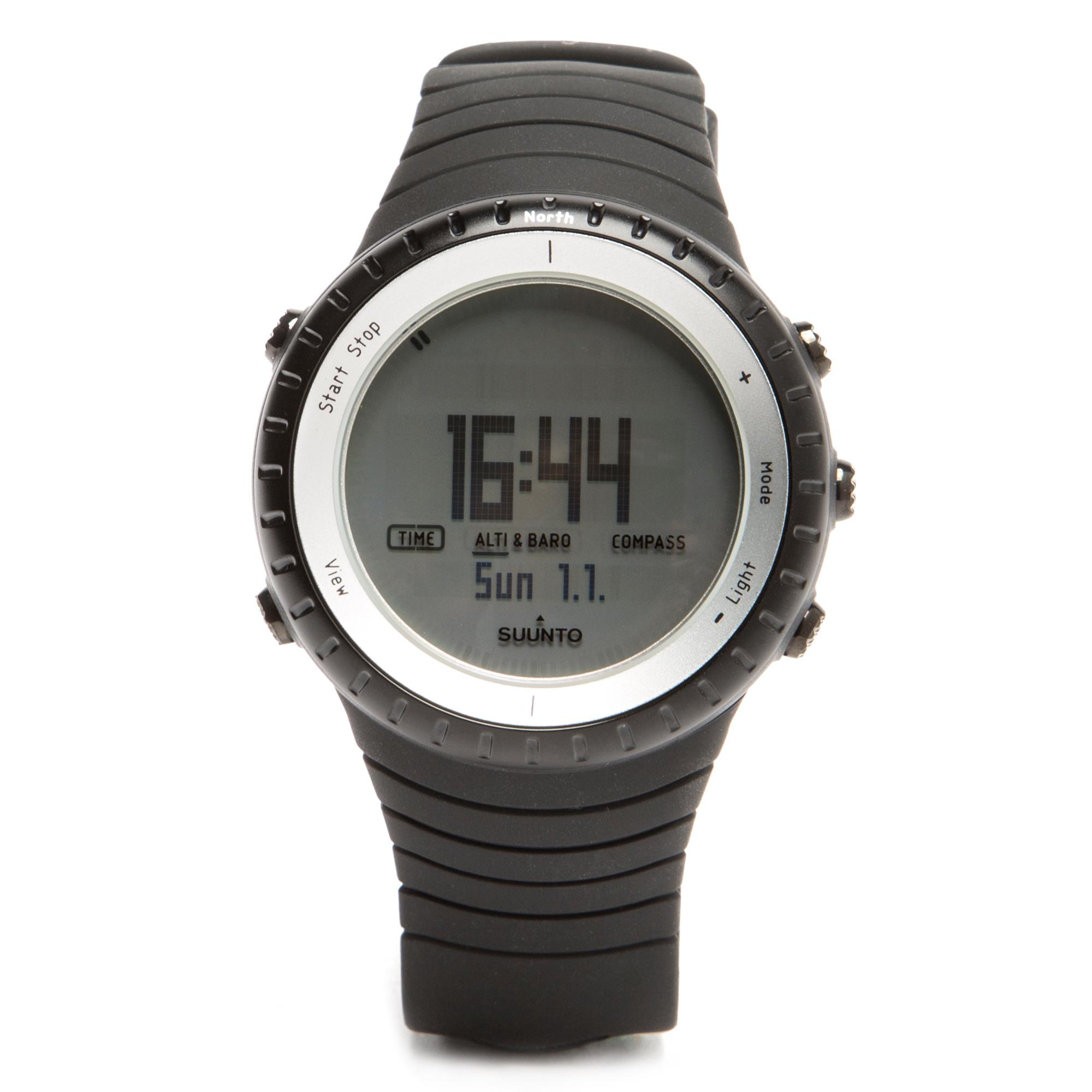 Suunto Core Glacier Outdoor Watch  Black Black