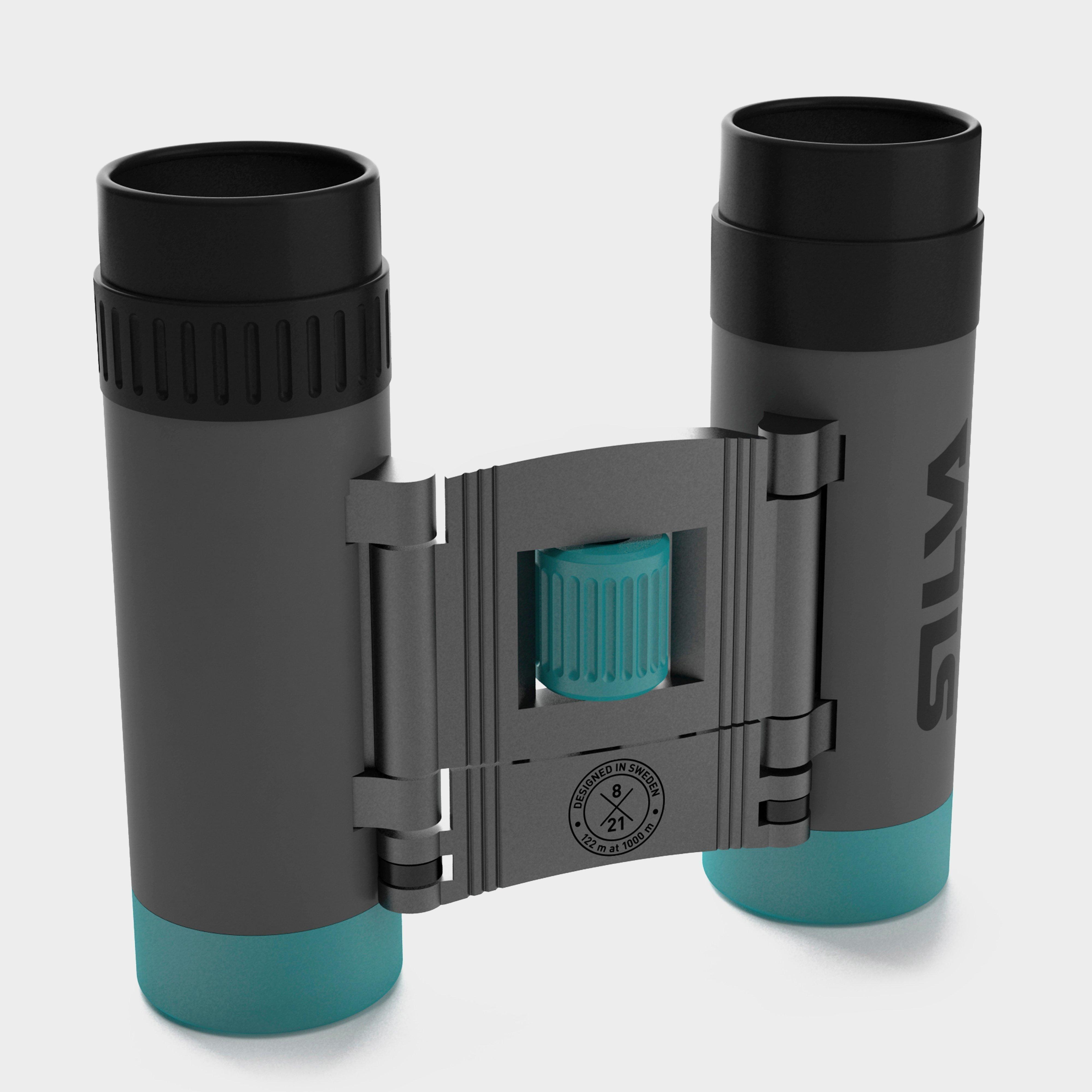 Silva Pocket 8x Binocular - Grey  Grey