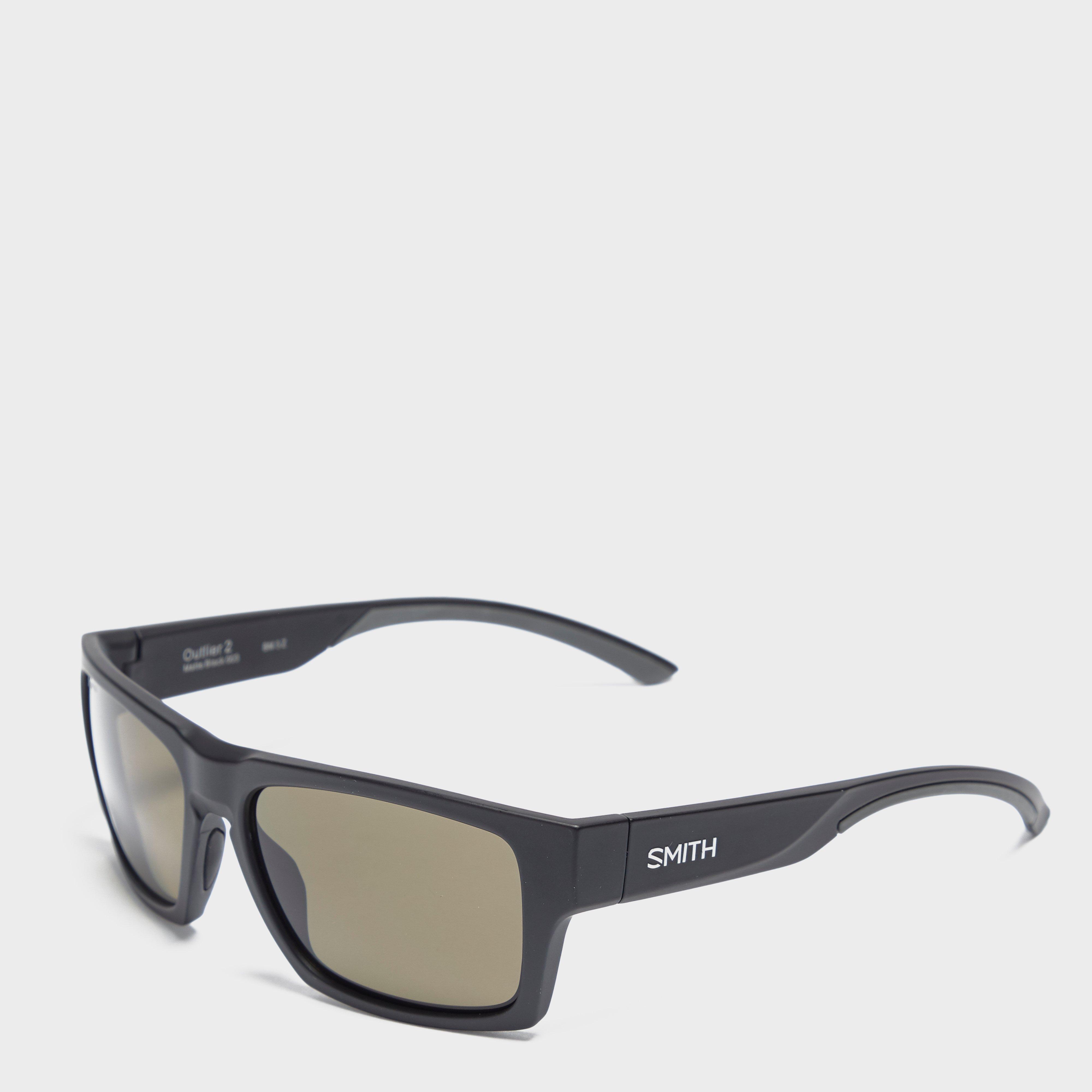 Smith Men's Outlier 2 Sunglasses, Black