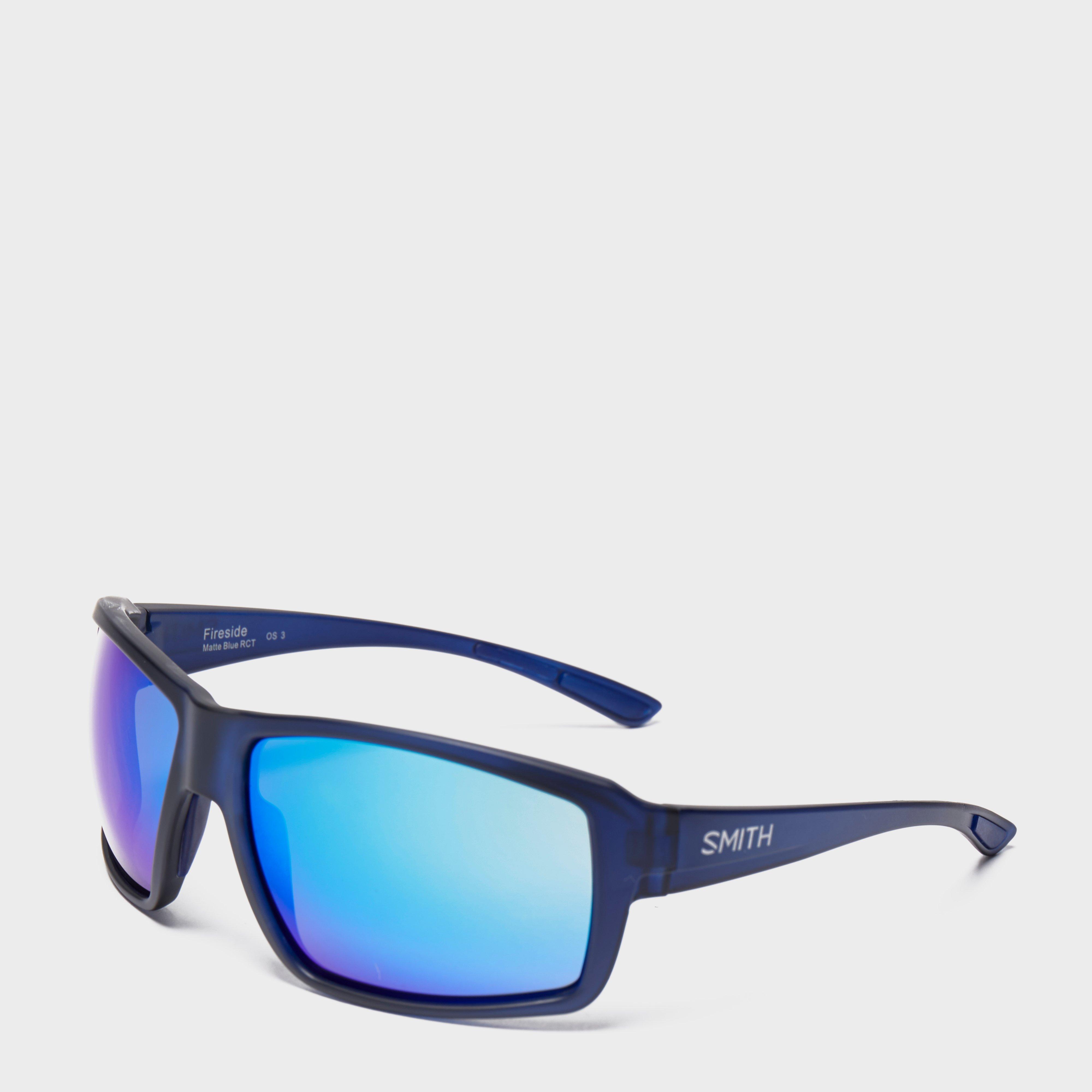 Smith Men's Fireside Sunglasses, Blue