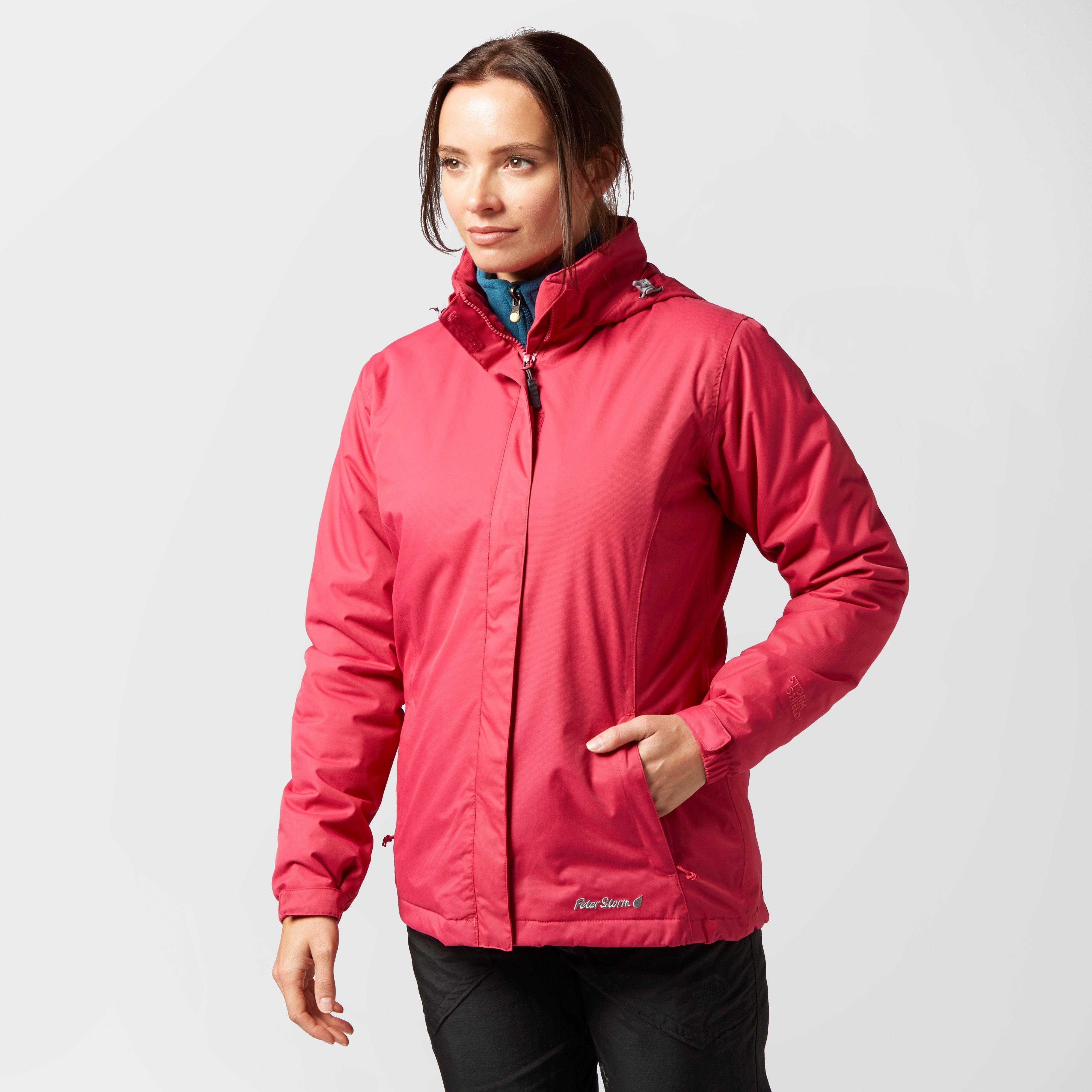 Peter Storm Women's Insulated Storm Waterproof Jacket ...
