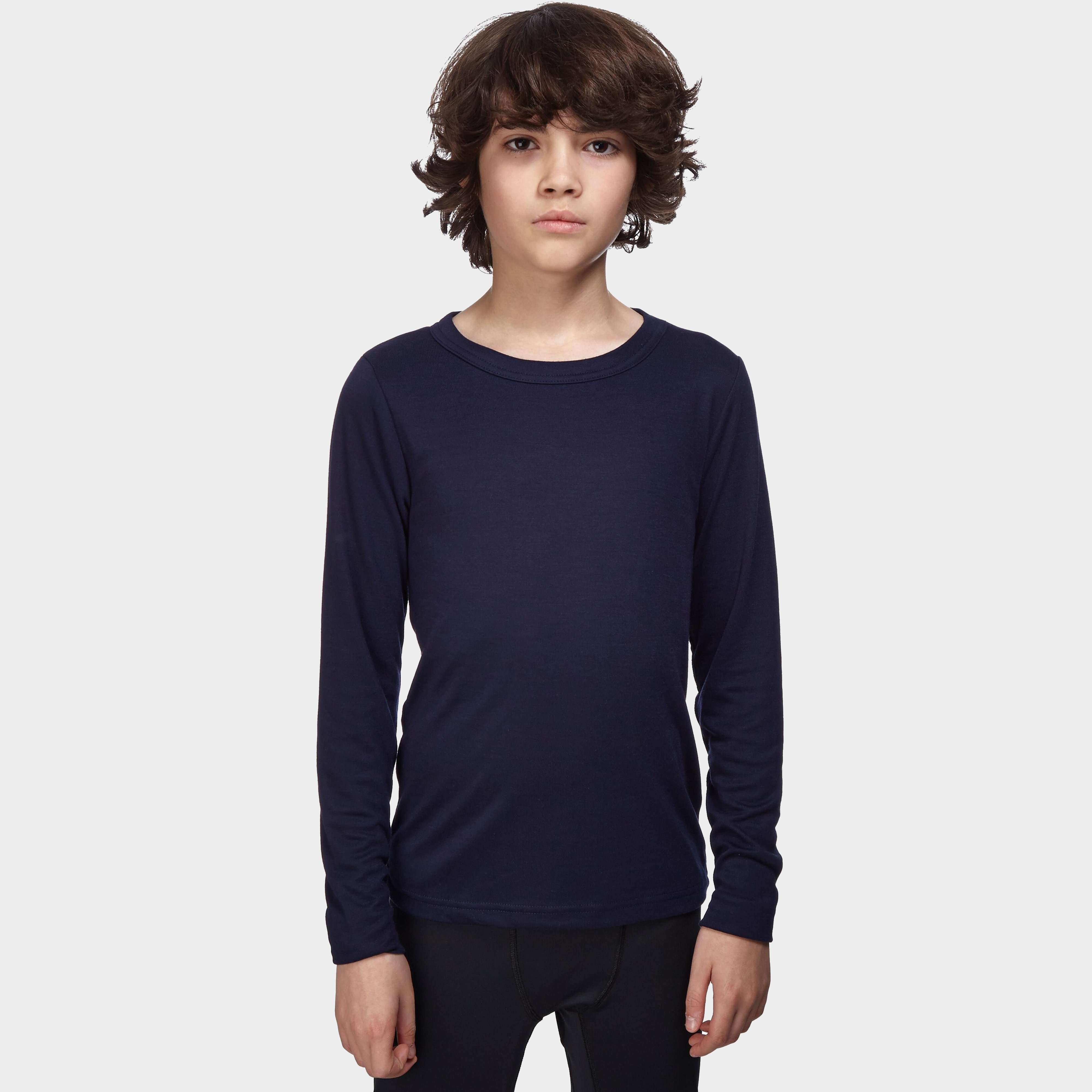 PETER STORM Kids' Unisex Long Sleeve Thermal Crew Baselayer Top