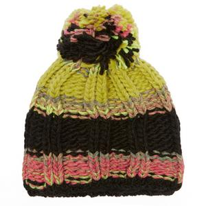 STARLING Women's Stripe Bobble Beanie