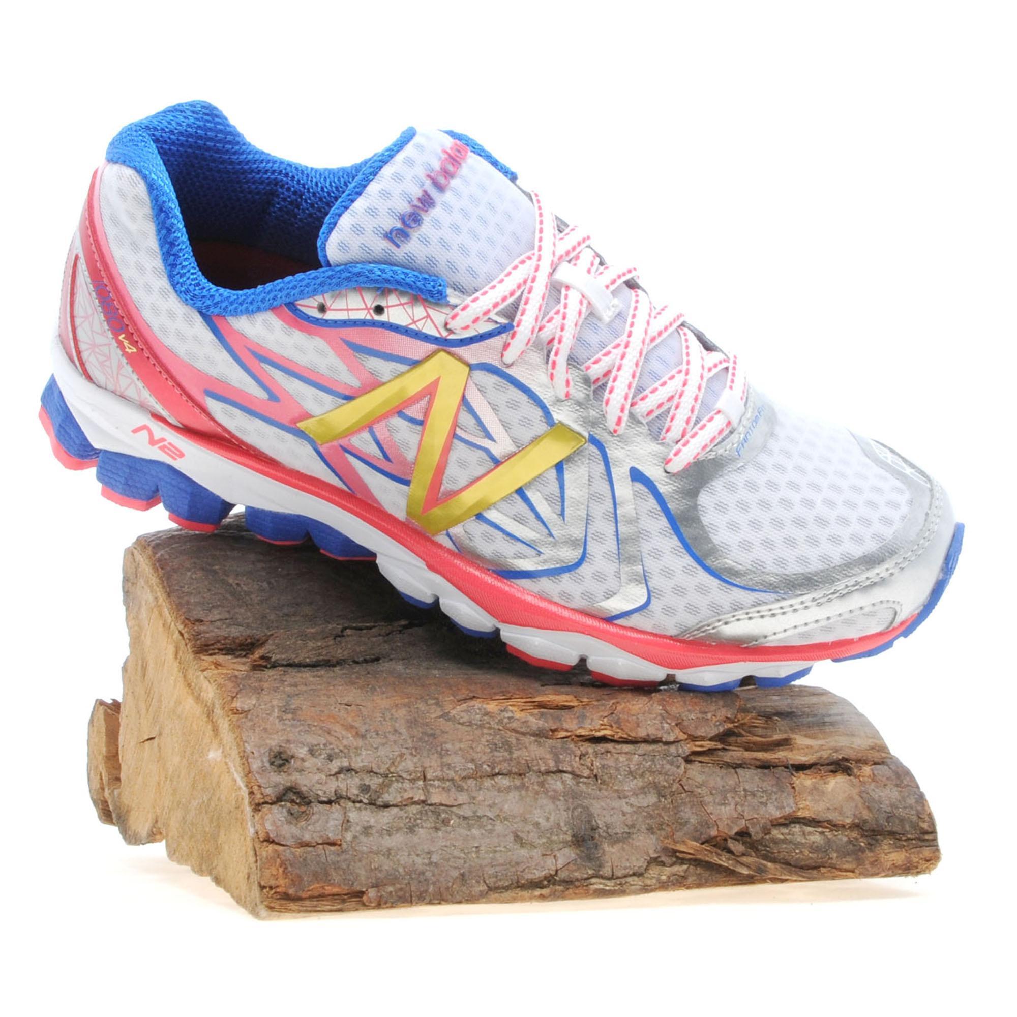 New Balance Women's 1080v4 Running Shoe, White