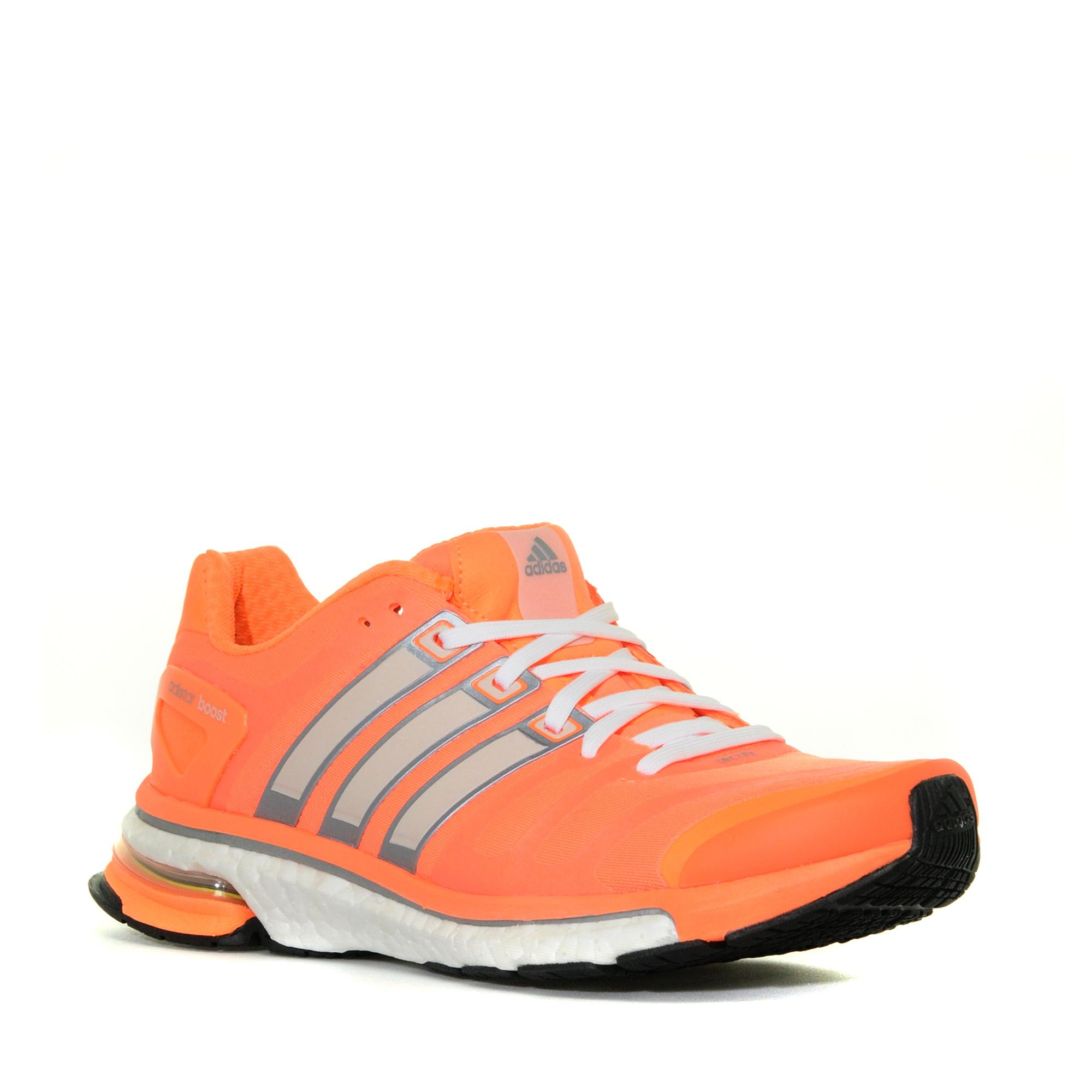 Adidas Womens adistar Boost Shoe Orange