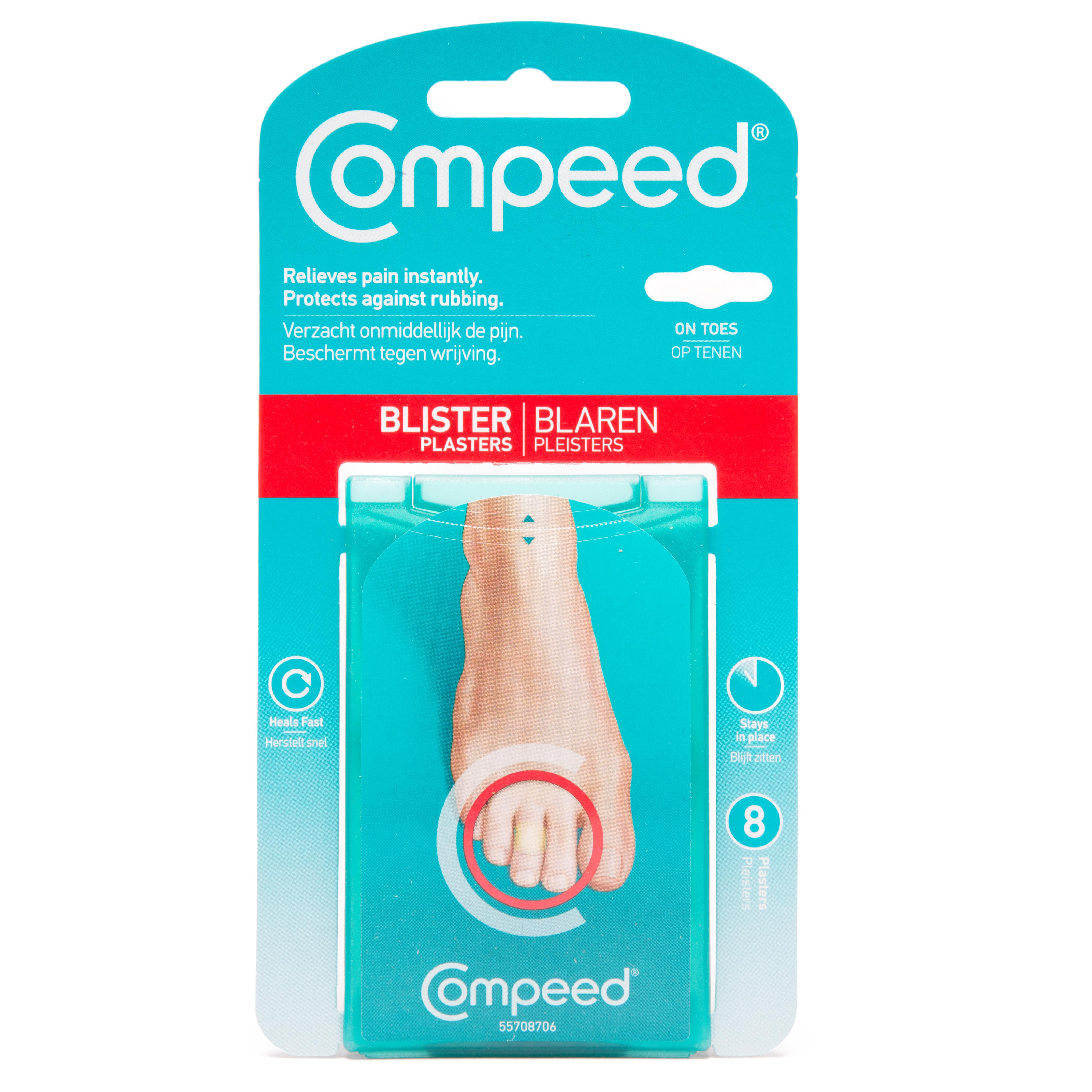 Compeed Blisters On Toes Plasters, N/A