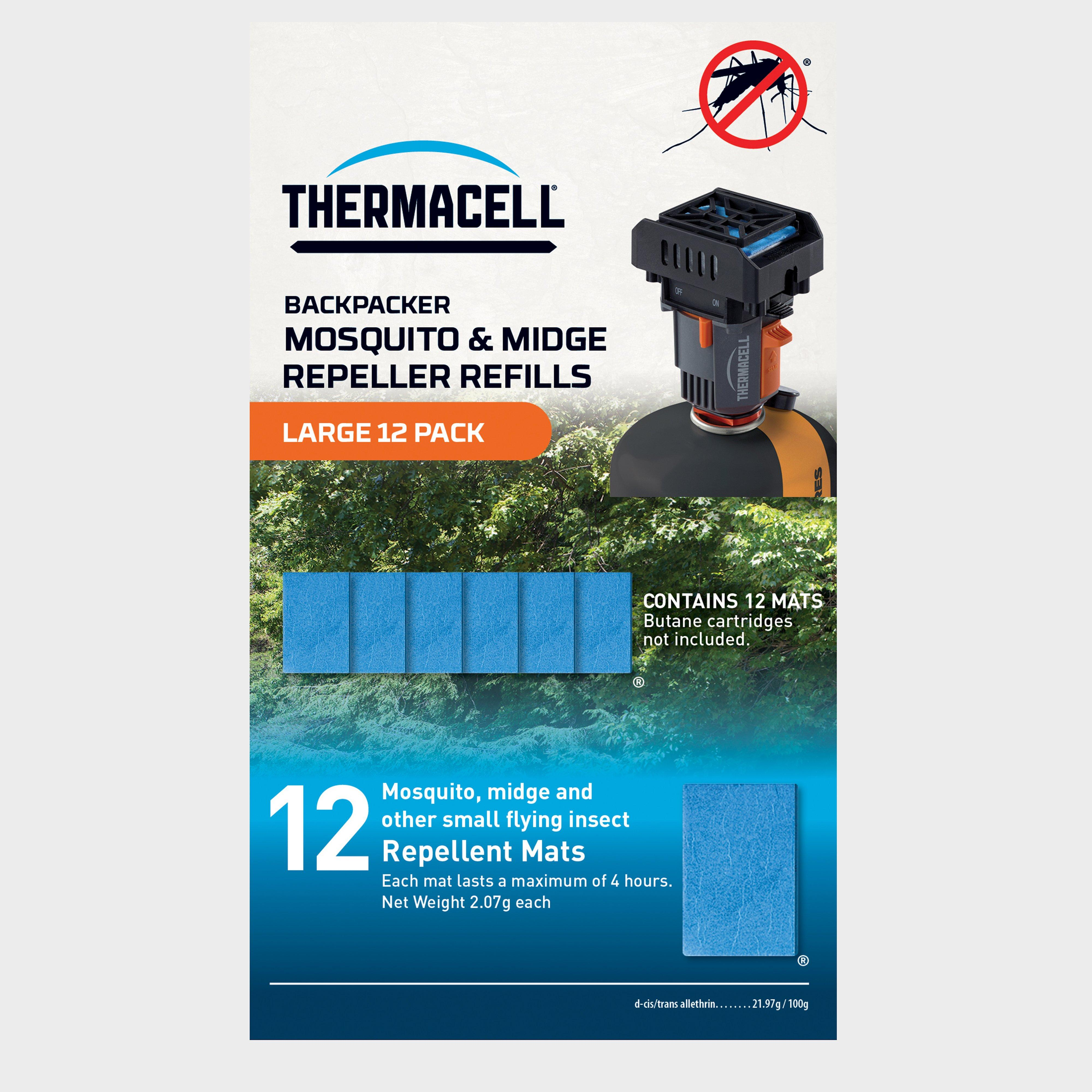 Thermacell Large Backpacker MosquitoandMidge Repeller Refills (12 Pack) - Multi/mats  Multi/mats