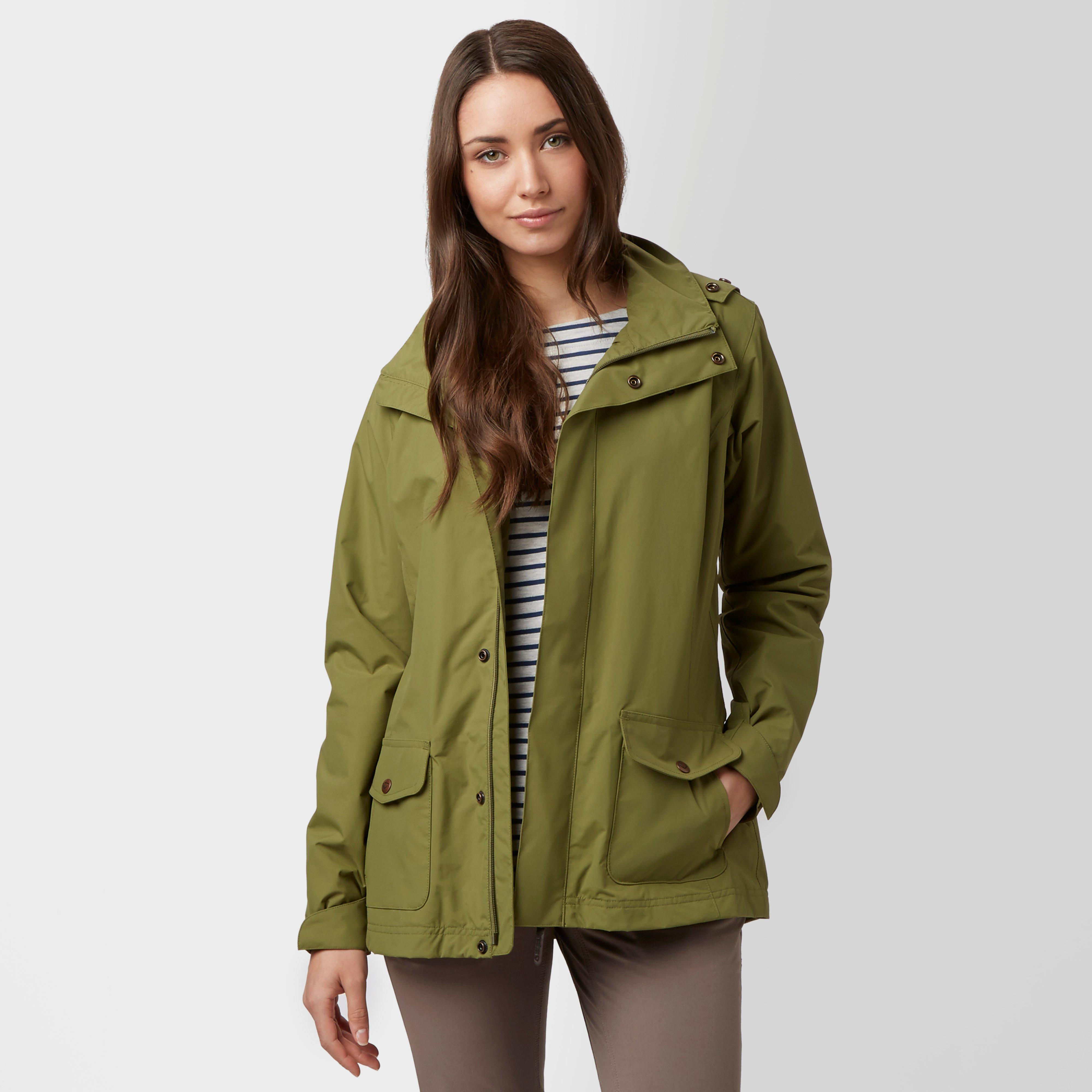 Brasher Womens Windermere Waterproof Jacket Khaki