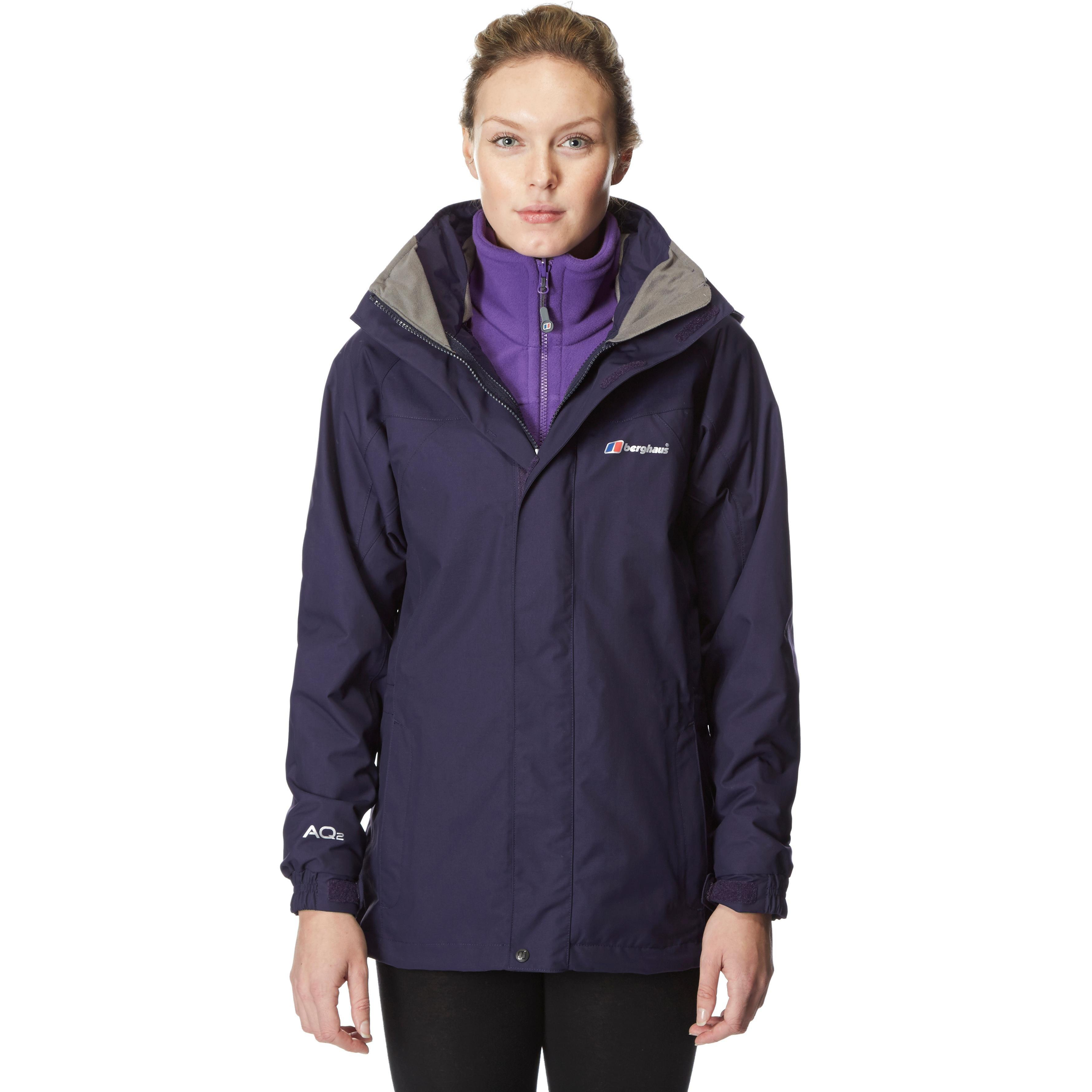 Berghaus Womens Causeway 3 in 1 AQ2 Jacket Purple