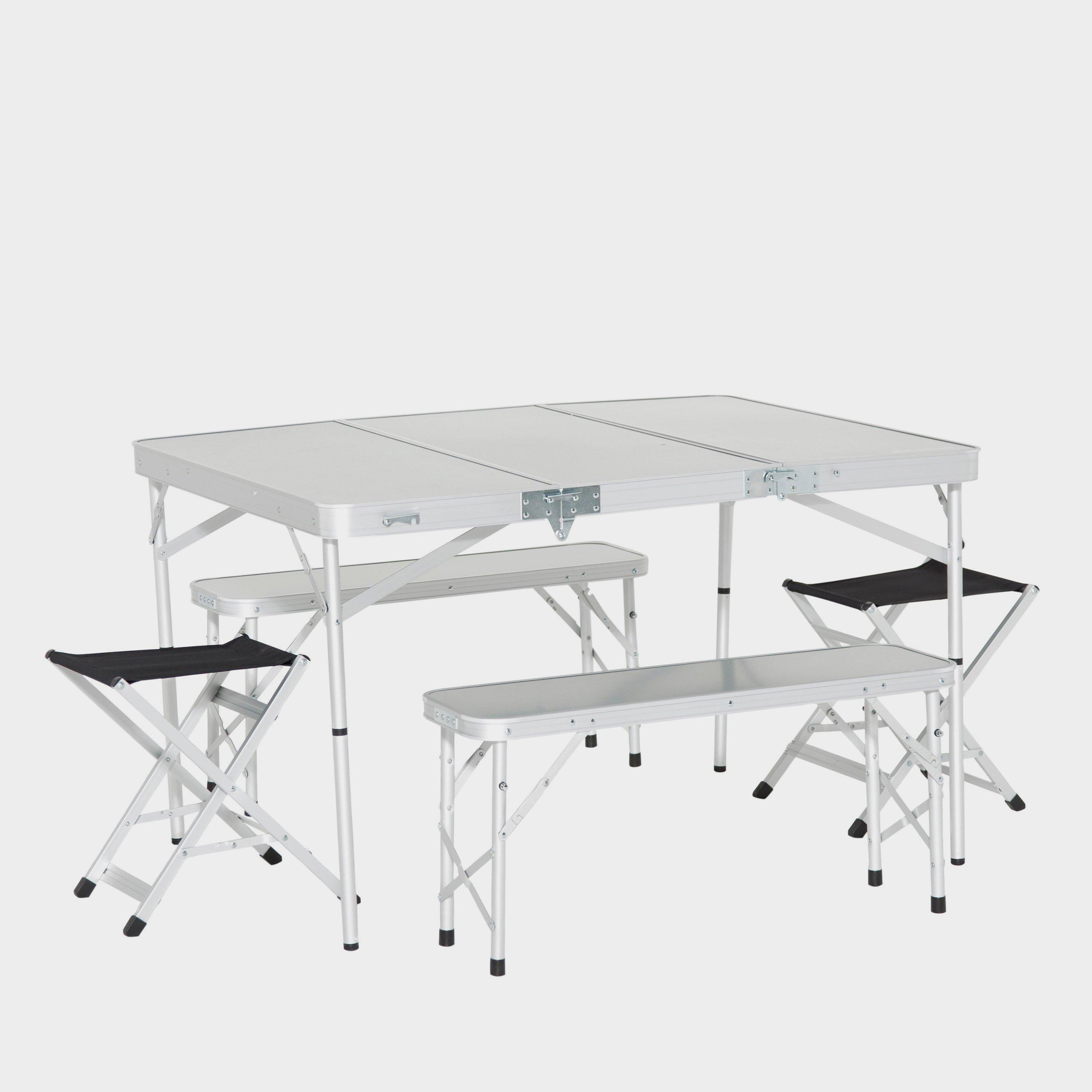 Camping Folding Table And Chairs Set Camping Furniture Blacks