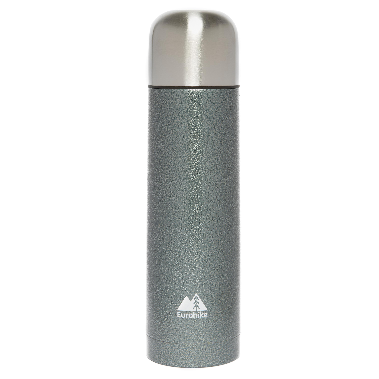 Eurohike 0.75 Litre Hammertone Vacuum Flask Grey
