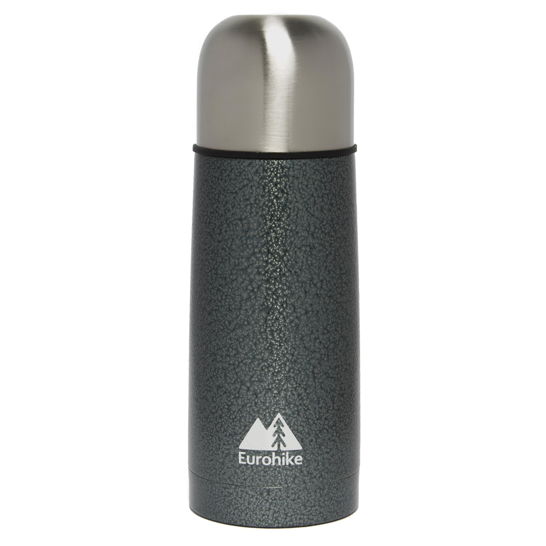 Eurohike 0.3 Litre Hammertone Vacuum Flask Grey