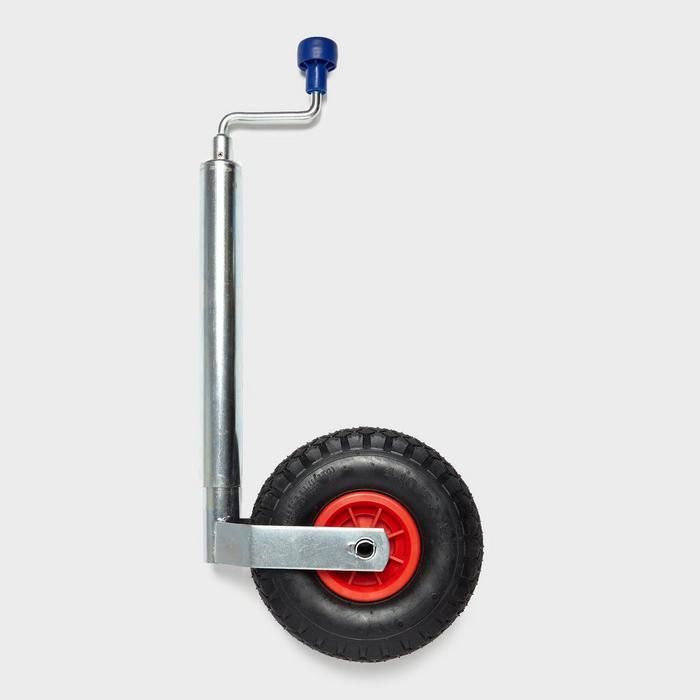 Pneumatic Jockey Wheel and Clamp 48mm