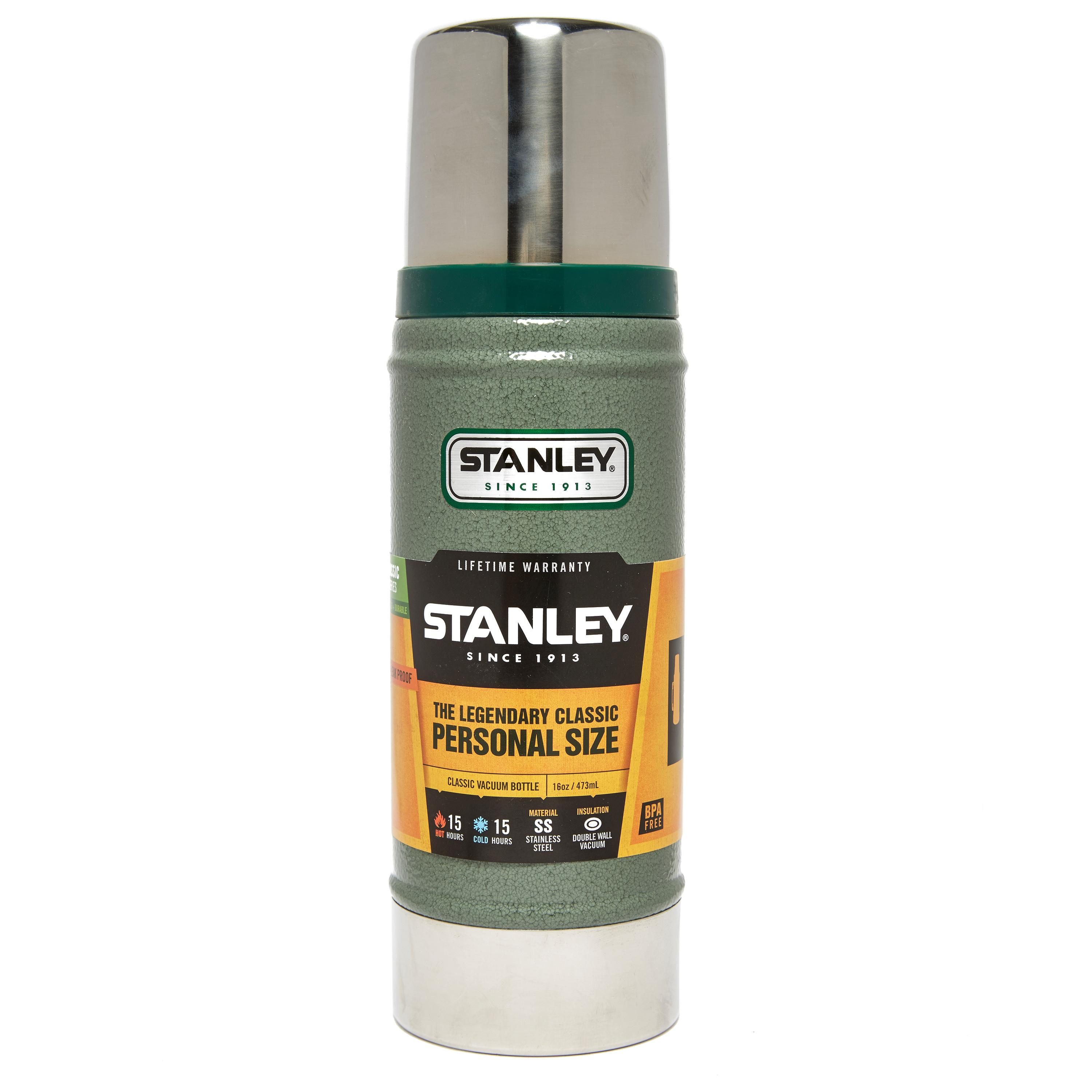 Stanley Classic Vacuum Flask  16oz  Silver Silver