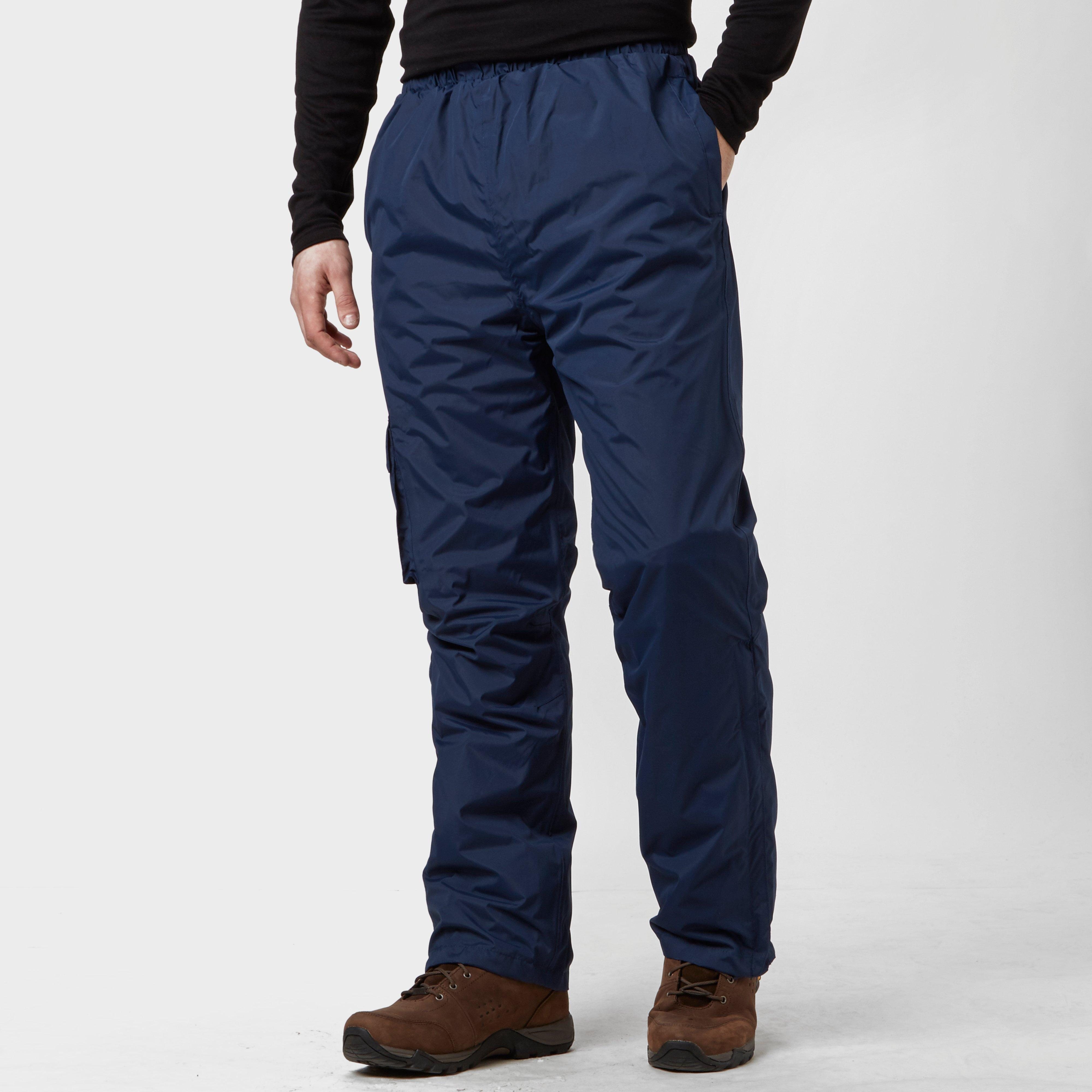 Peter Storm Mens Storm Waterproof Trousers - Navy/nvy  Navy/nvy