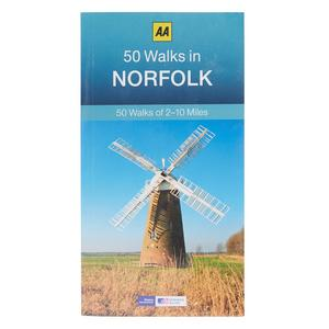 AA 50 Walks in Norfolk Guide