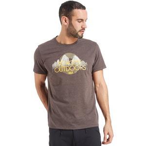 JACK WOLFSKIN Men's Heather T-Shirt