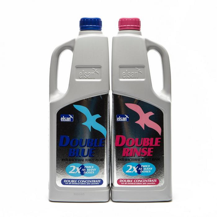 Double Rinse Toilet Liquid (2 Pack)