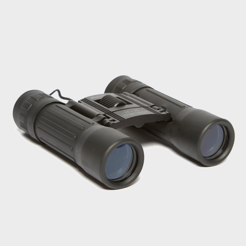 Eurohike 10x25 Binoculars - Black/blk  Black/blk