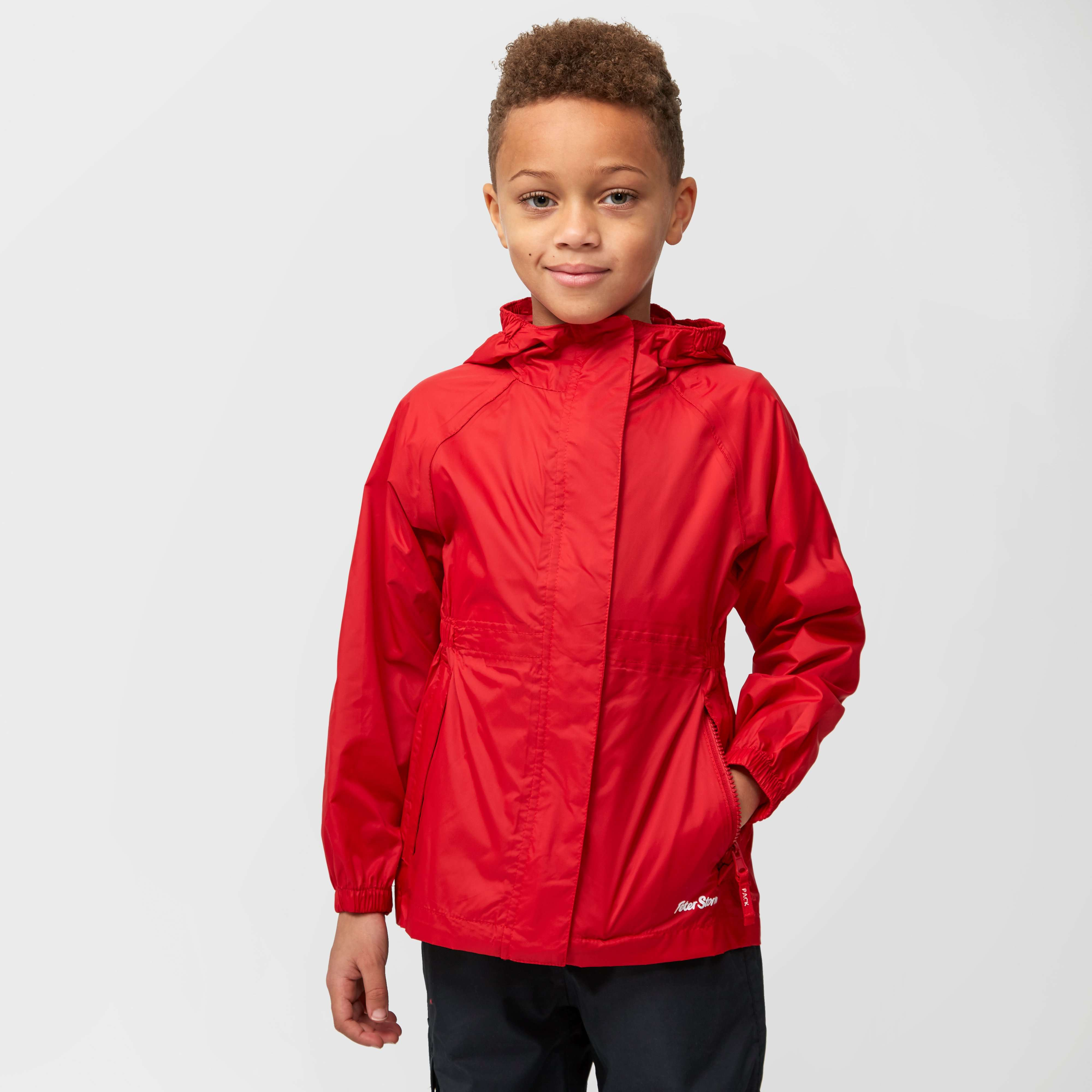 PETER STORM Kids' Unisex Parka-in-a-Pack