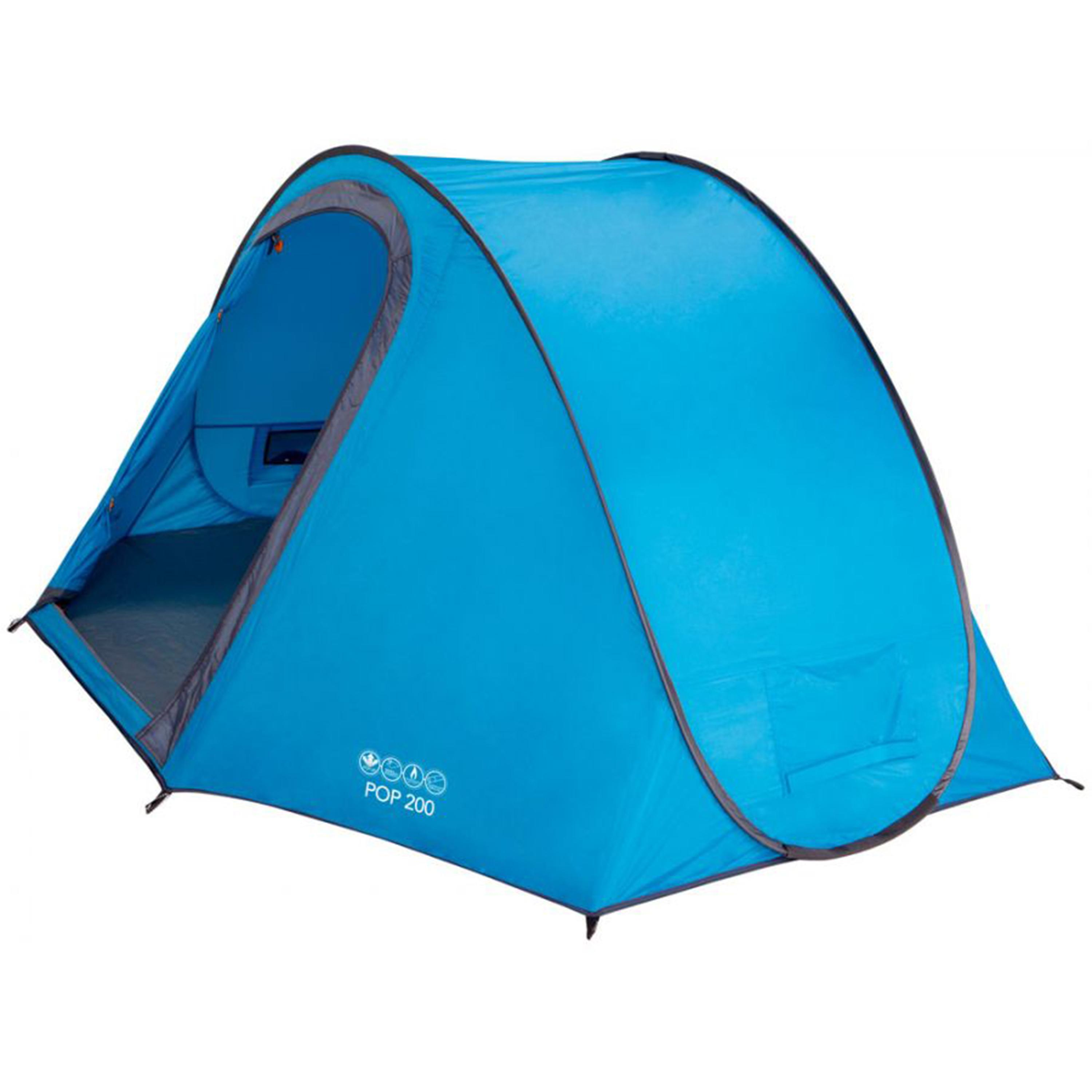 vango pop up 200 tent buyer compare tent prices save. Black Bedroom Furniture Sets. Home Design Ideas