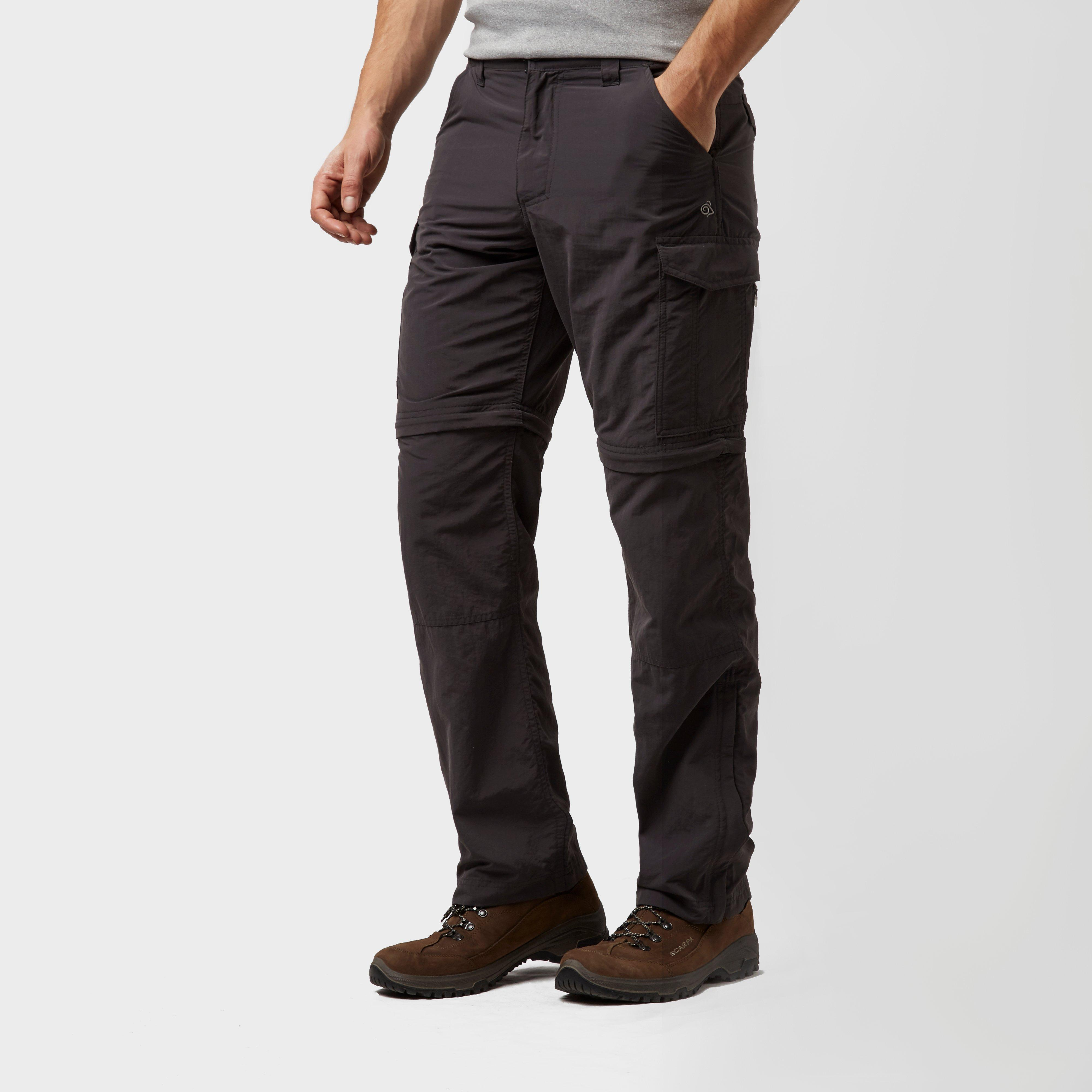 Craghoppers Mens NosiLife Convertible Trousers Grey