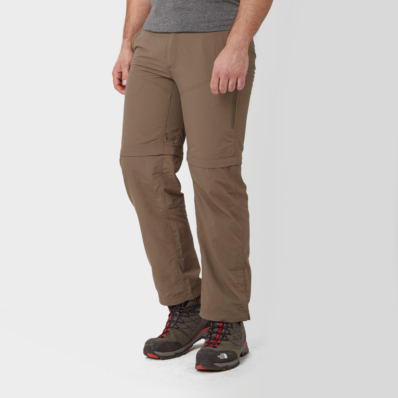 The North Face Mens Horizon Peak Convertible Trousers Brown
