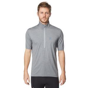 HAGLOFS Men's Ridge Short Sleeve Zip Tee