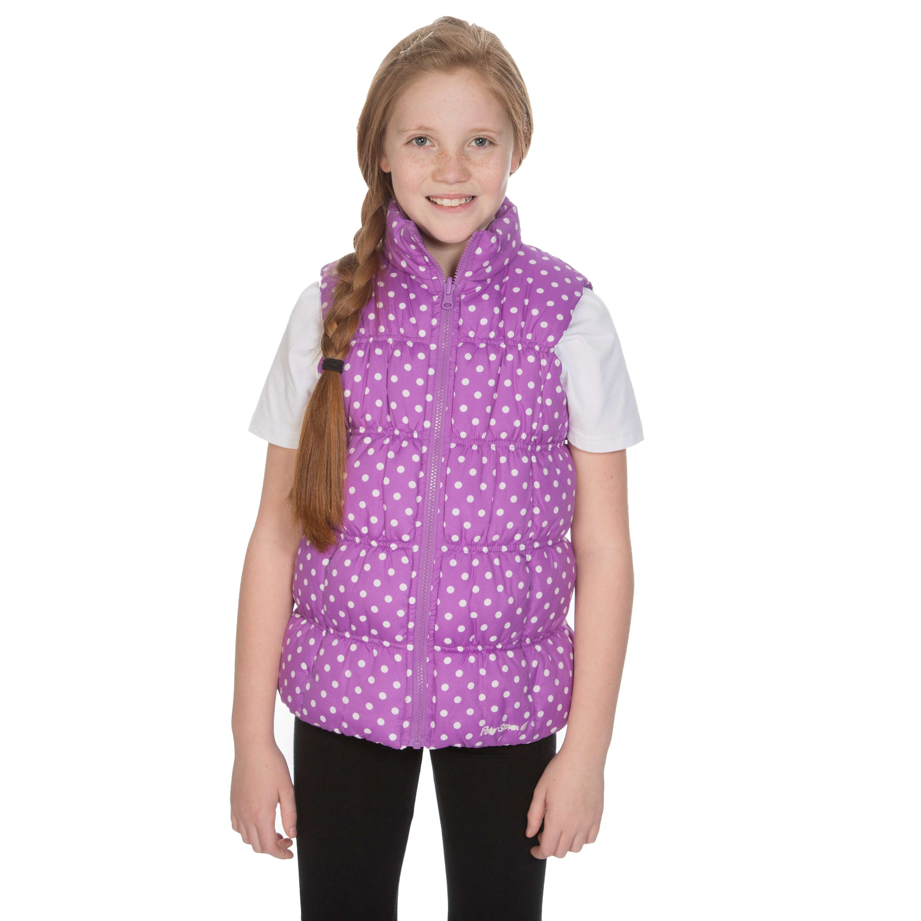 PETER STORM Girls' Cinders Reversible Gilet