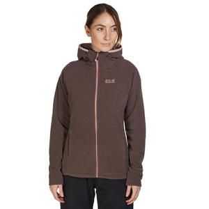 JACK WOLFSKIN Women's Strokkur Hooded Fleece Jacket