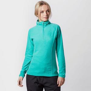 PETER STORM Women's Half Zip Micro Stripe Fleece