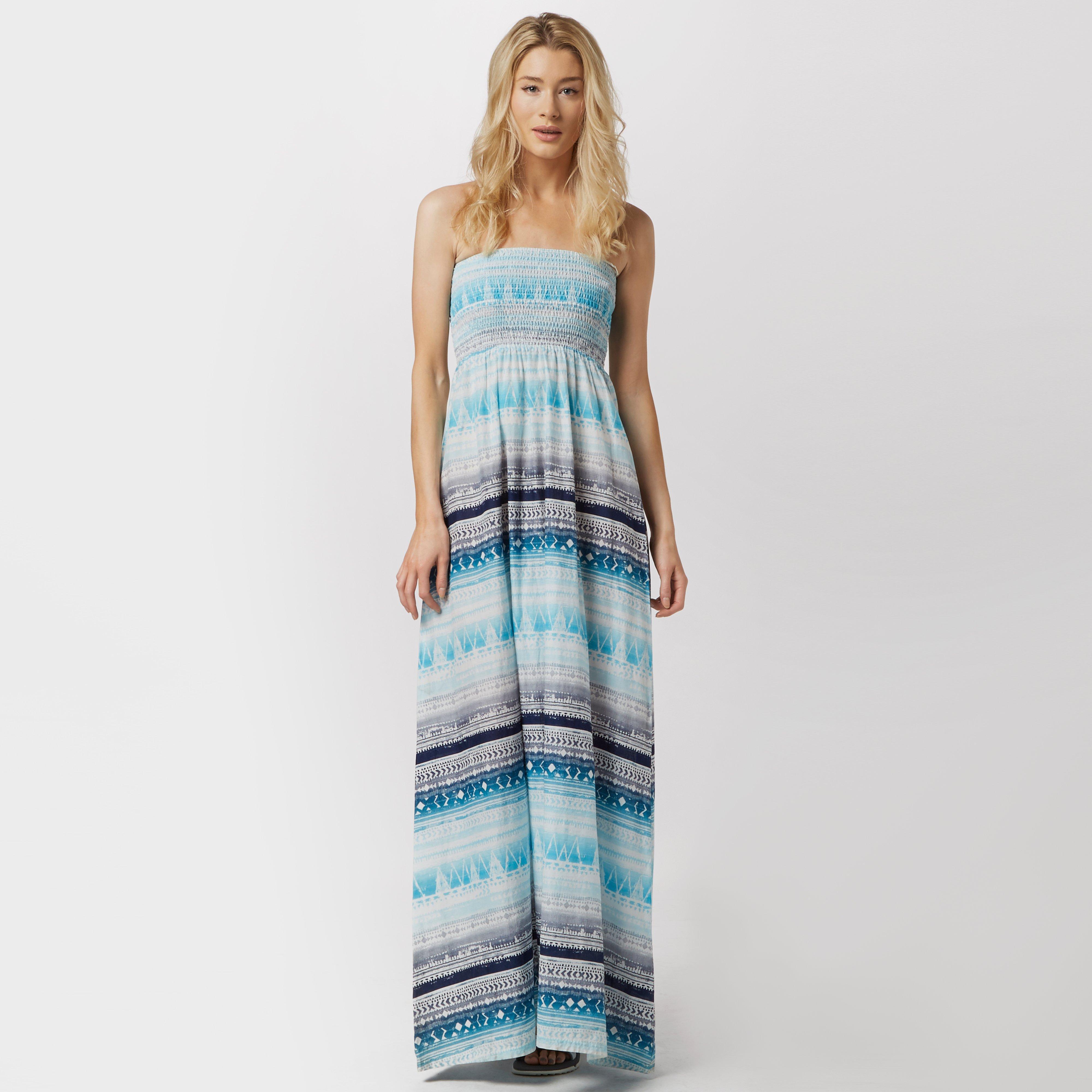 Animal Womens Luluu Maxi Dress Blue