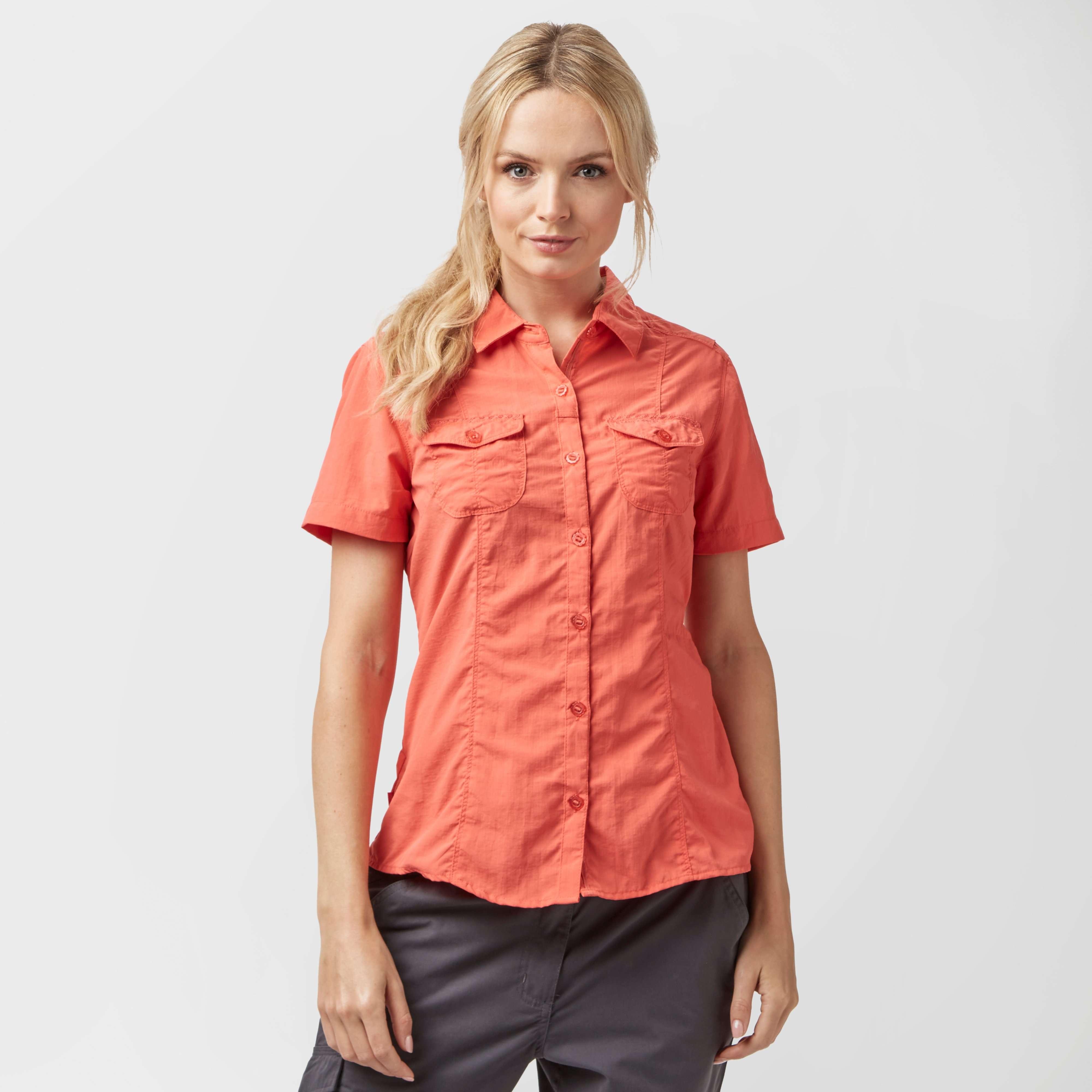 CRAGHOPPERS Women's NosiLife Darla Short Sleeve Shirt