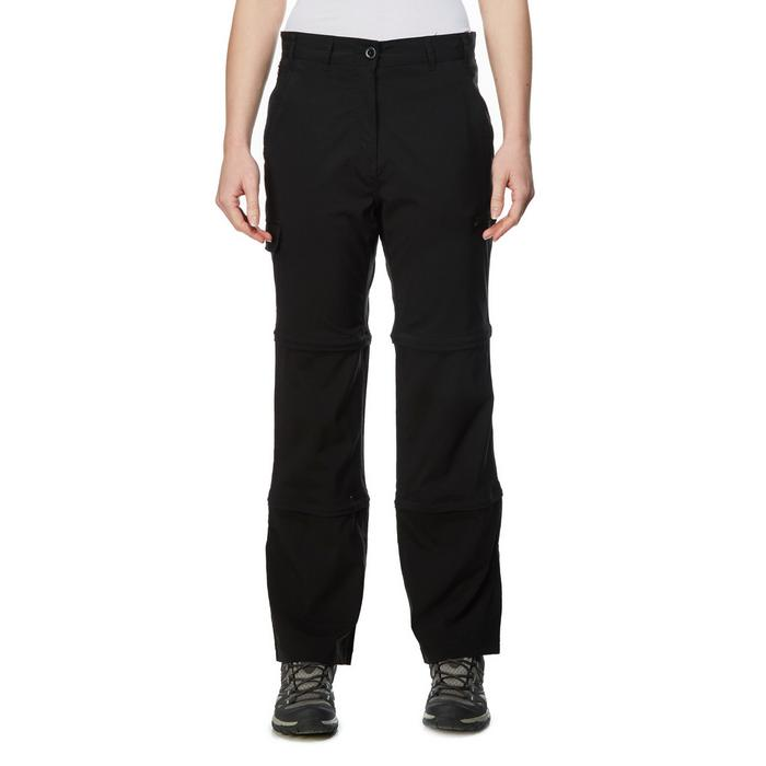 Womens Stretch Double Zip Off Trousers (Regular)