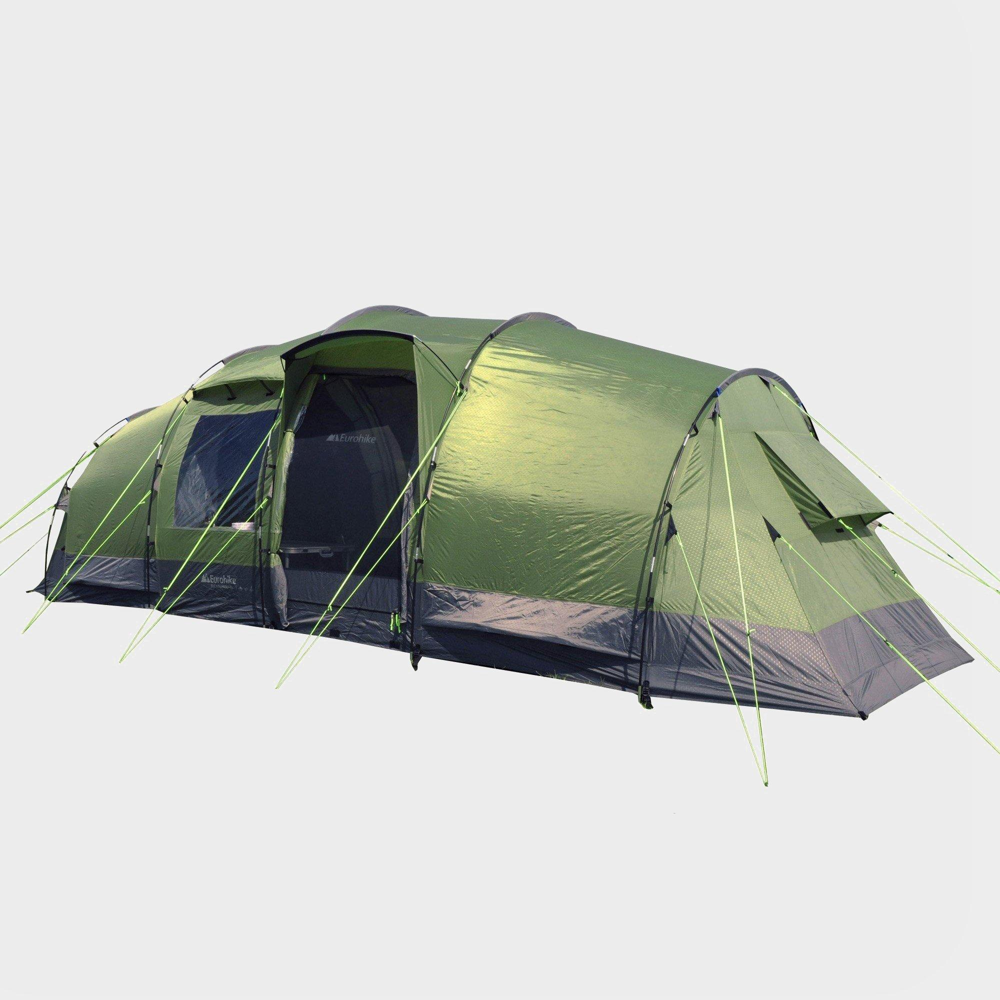 Eurohike Buckingham Elite 6 Man Family Tent Green