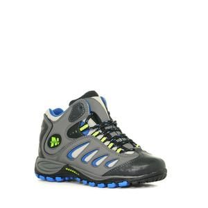 MERRELL Boys' Reflex Mid Waterproof Shoe